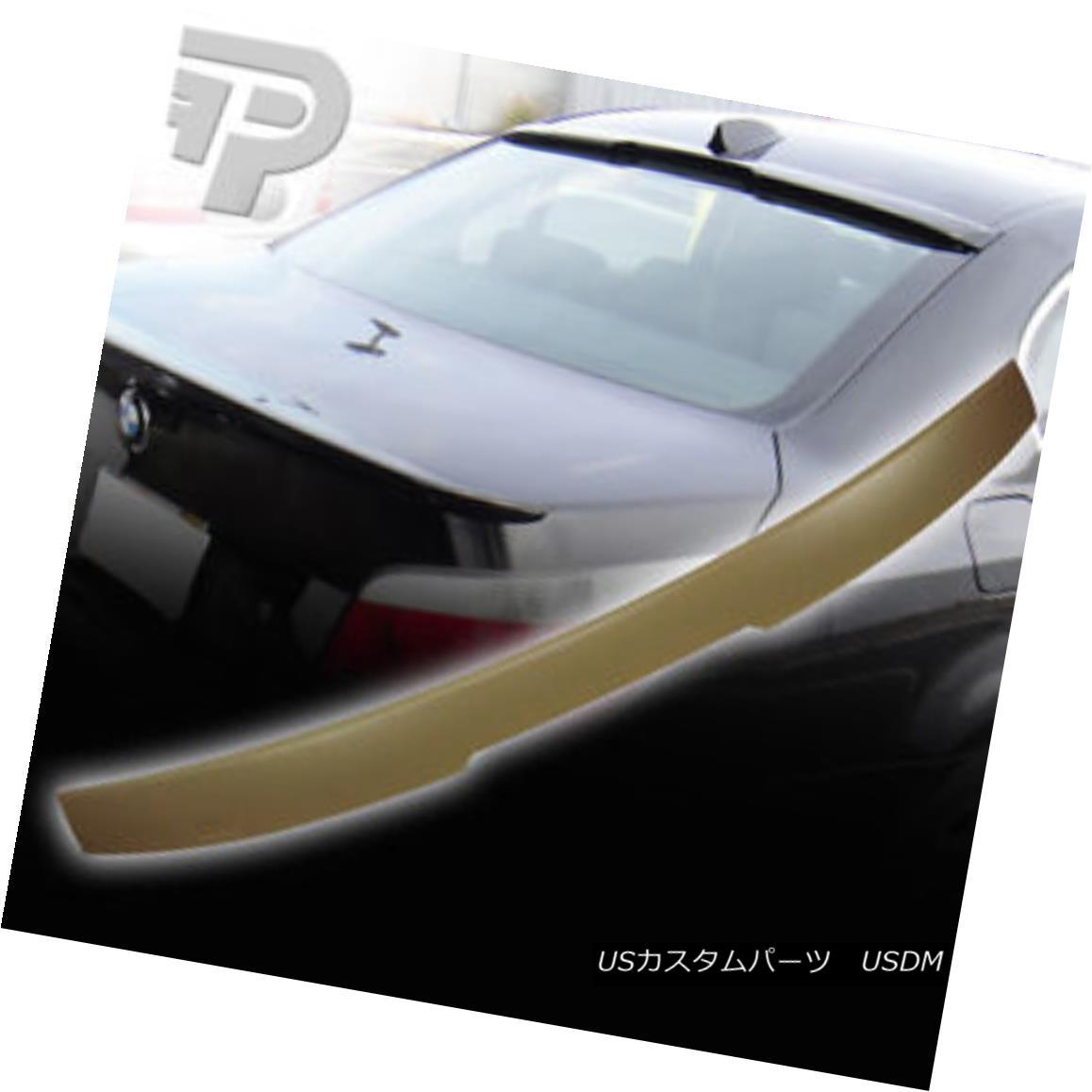 エアロパーツ BMW 5-SERIES E60 SEDAN A TYPE REAR ROOF SPOILER WING 525i M5 04-10▼ BMW 5シリーズE60セダンAタイプリアルーフスポイラーウイング525i M5 04-10?