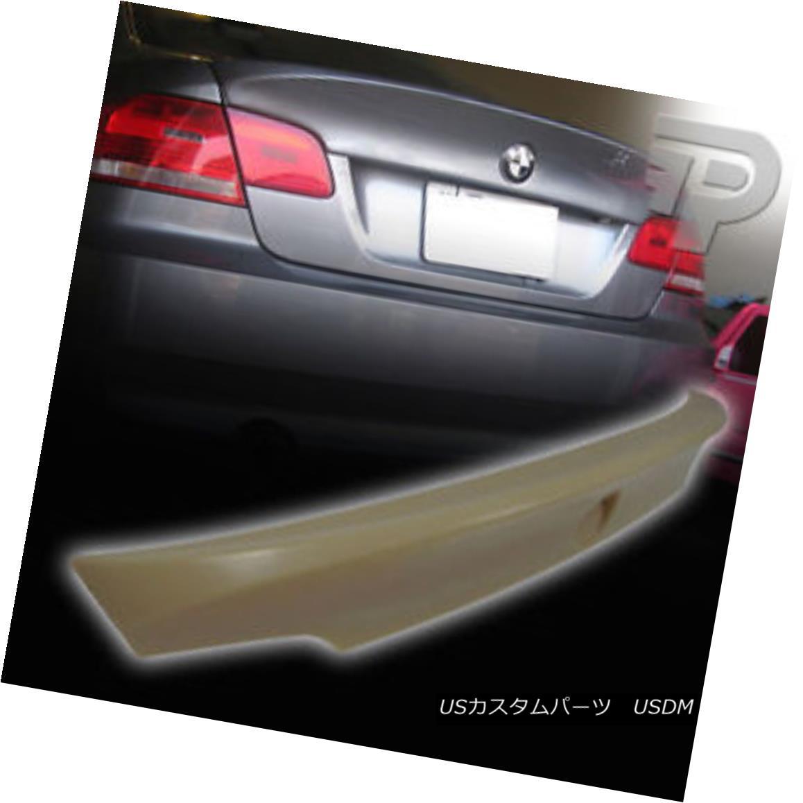 エアロパーツ BMW 3-SERIES E92 2D COUPE CSL STYLE REAR BOOT TRUNK SPOILER WING BMW 3シリーズE92 2DカップリングCSLスタイル後部トランクスポイラーウイング