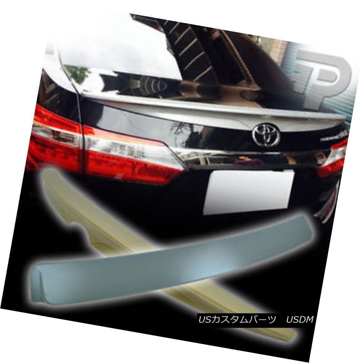 エアロパーツ UNPAINTED For TOYOTA Corolla ALTIS 2014 REAR ROOF SPOILER+ C-TYPE TRUNK SPOILER▼ TOYOTA Corolla ALTIS 2014 REAR ROOF SPOILER + C-TYPE TRUNK SPOILERについては未定ですか?
