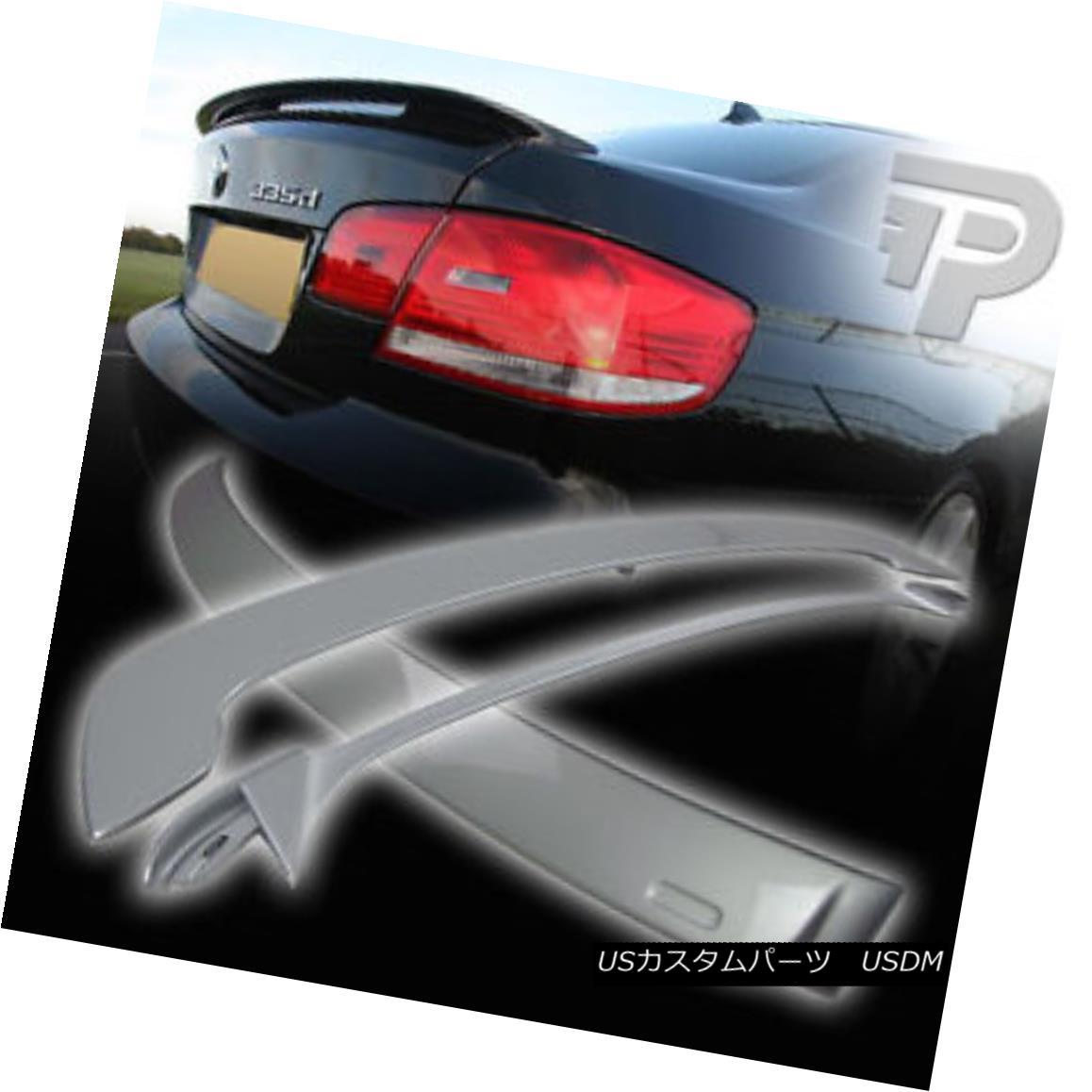 エアロパーツ PAINTED BMW 3-SERIES E92 COUPE A ROOF & OE TYPE REAR BOOT TRUNK SPOILER 07+ ▼ ペイントされたBMW 3シリーズE92クーペAルーフ& OEタイプリアブーツトランクスポイラー07+?