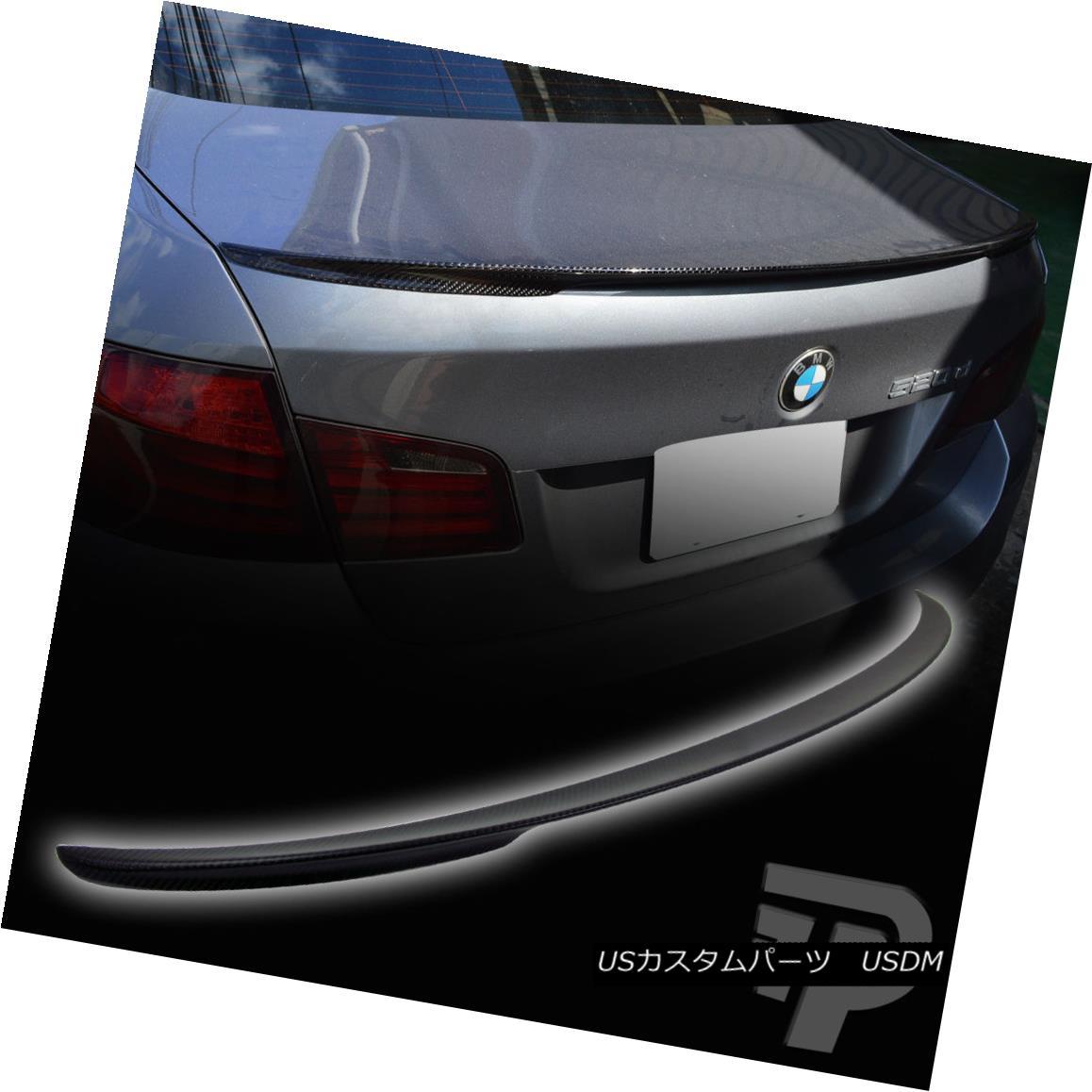エアロパーツ MATTE CARBON FIBER BMW 5-SERIES F10 P PERFORMANCE TYPE REAR BOOT TRUNK SPOILER ▼ MATTE CARBON FIBER BMW 5シリーズF10 Pパフォーマンスタイプリア・ブーツ・トランク・スポイラー?