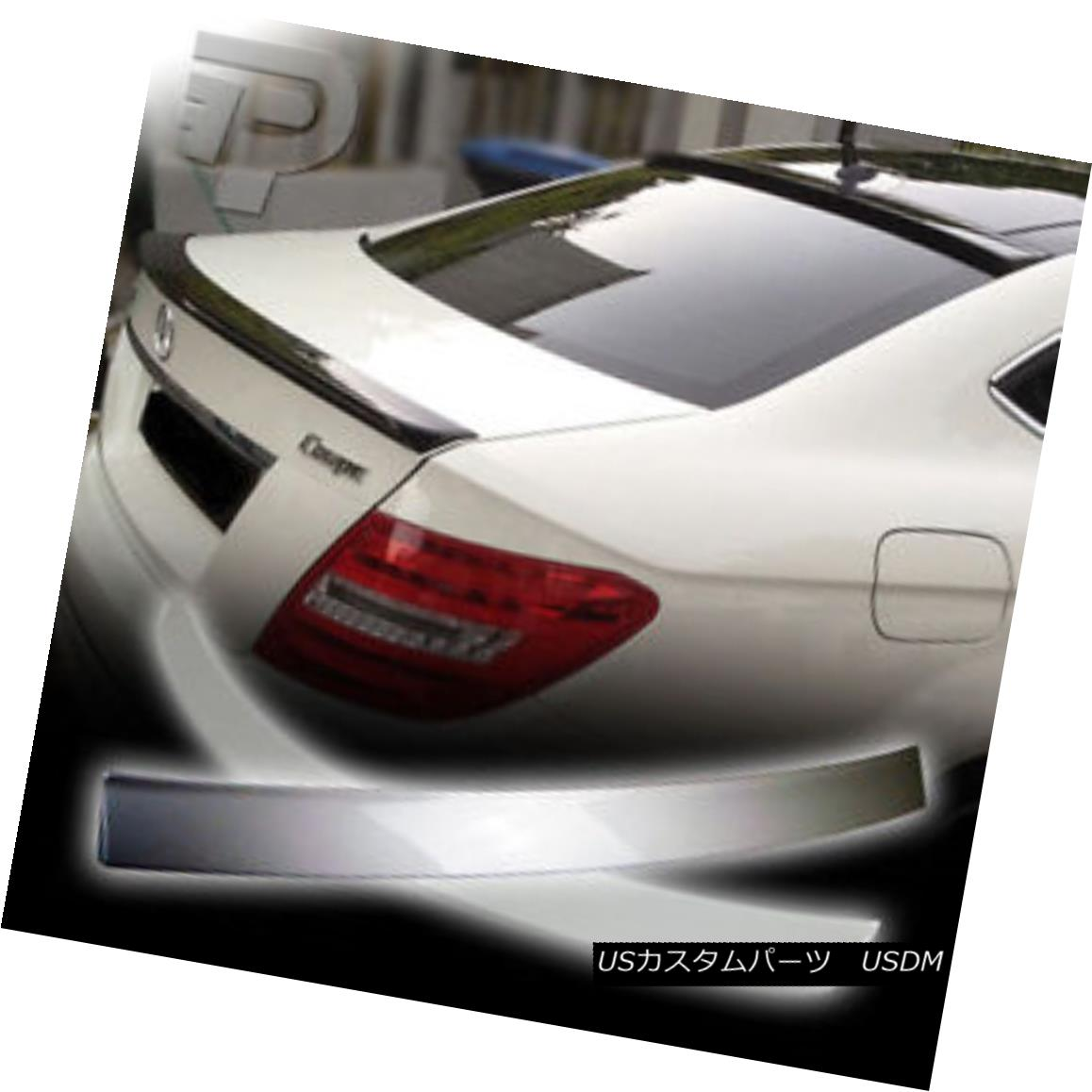 エアロパーツ PAINTED Mercedes BENZ C204 OE ROOF WING & A TYPE BOOT TRUNK SPOILER COUPE 2DR ▼ ペイントされたメルセデスベンツC204 OEルーフウィング& TYPE BOOT TRUNK SPOILER COUPE 2DR?
