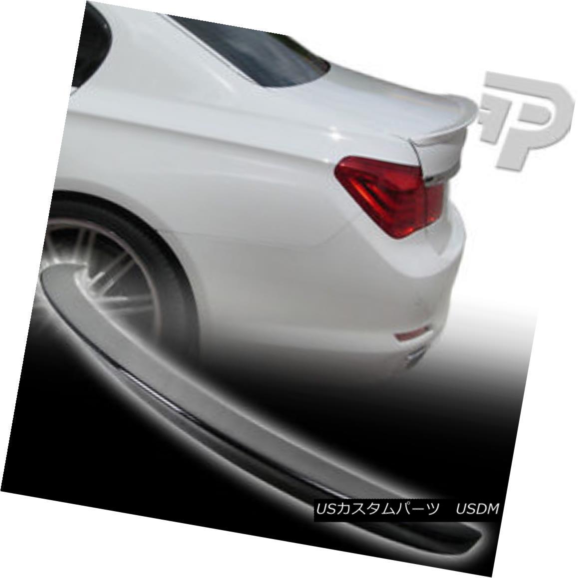 エアロパーツ BMW F01 F02 7-Series 4DR Sedan Rear Boot Trunk Spoiler Carbon Fiber 14▼ BMW F01 F02 7-シリーズ4DRセダンリアブートトランクスポイラー炭素繊維14?
