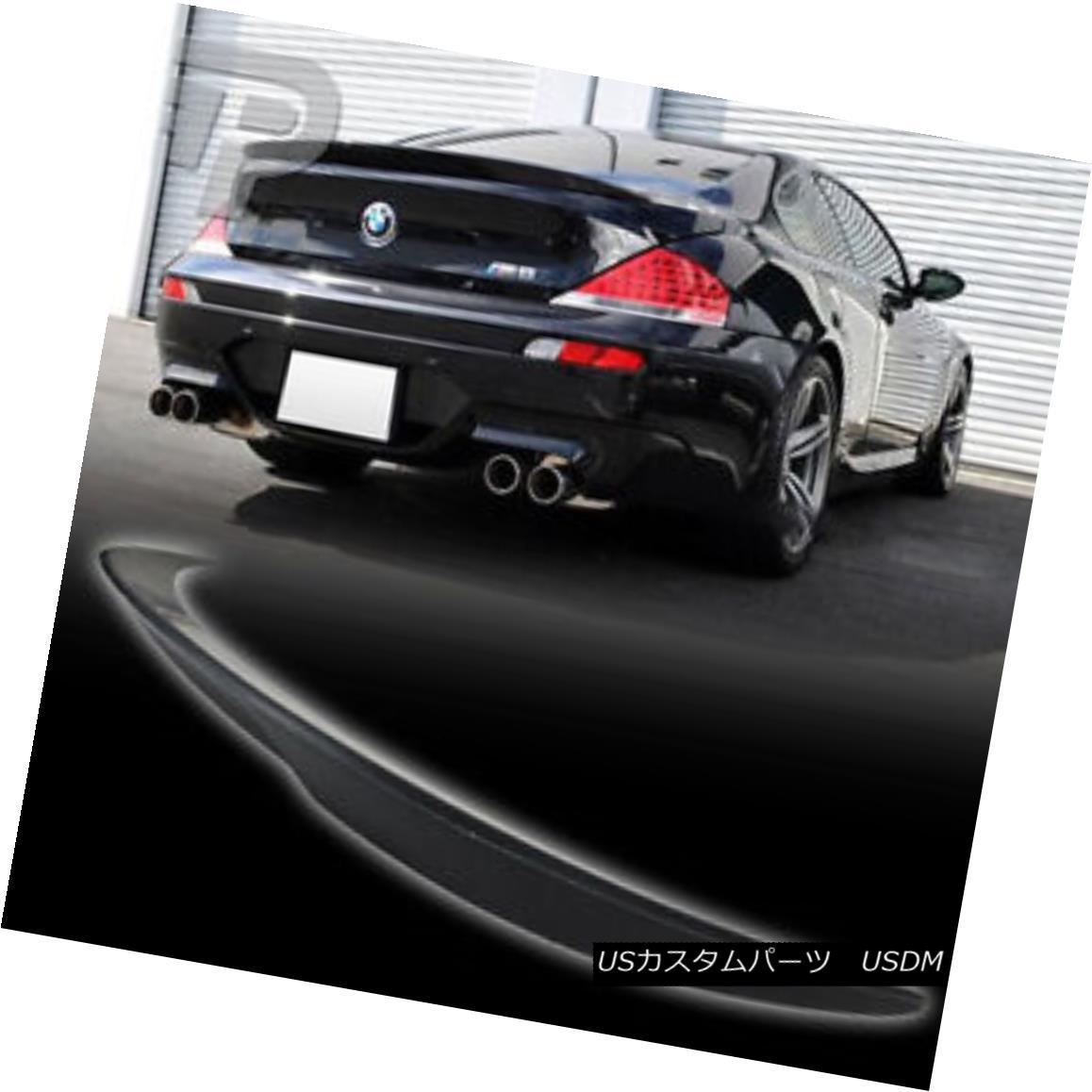 エアロパーツ PAINTED BMW 6-SERIES E63 2DR COUPE V TYPE TRUNK SPOILER BOOT M6 04-08▼ 塗装済みBMW 6シリーズE63 2DR COUPE VタイプトランクスポイラーブーツM6 04-08?