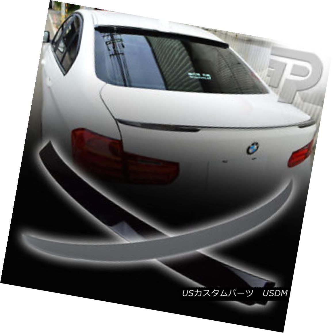 エアロパーツ PAINTED BMW 3-SERIES F30 SEDAN REAR ROOF A TYPE + P PERFORMANCE TRUNK SPOILER ▼ ペイントされたBMW 3シリーズF30セダンリアルーフタイプ+ Pパフォーマンストランクスポイラー?