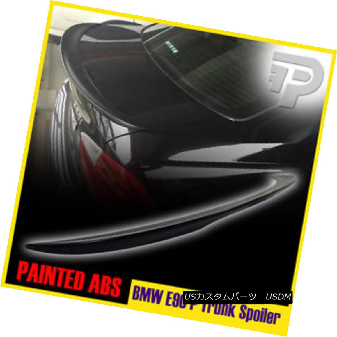 エアロパーツ CARBON FIBER BMW E90 3ER SEDAN LOW KICK PERFORMANCE TYPE REAR TRUNK SPOILER ▼ カーボンファイバーBMW E90 3ERセダン低キックパフォーマンスタイプリアトランクスポイラー?