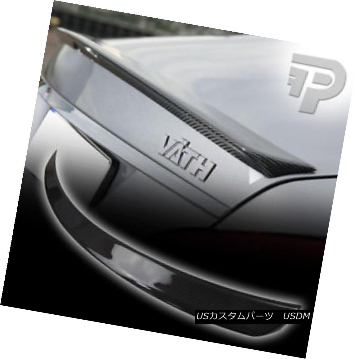 エアロパーツ CARBON FIBER Mercedes BENZ W218 SEDAN A TYPE TRUNK SPOILER 11-16 ▼ 炭素繊維メルセデスベンツW218セダン型トランクスポイラー11-16?