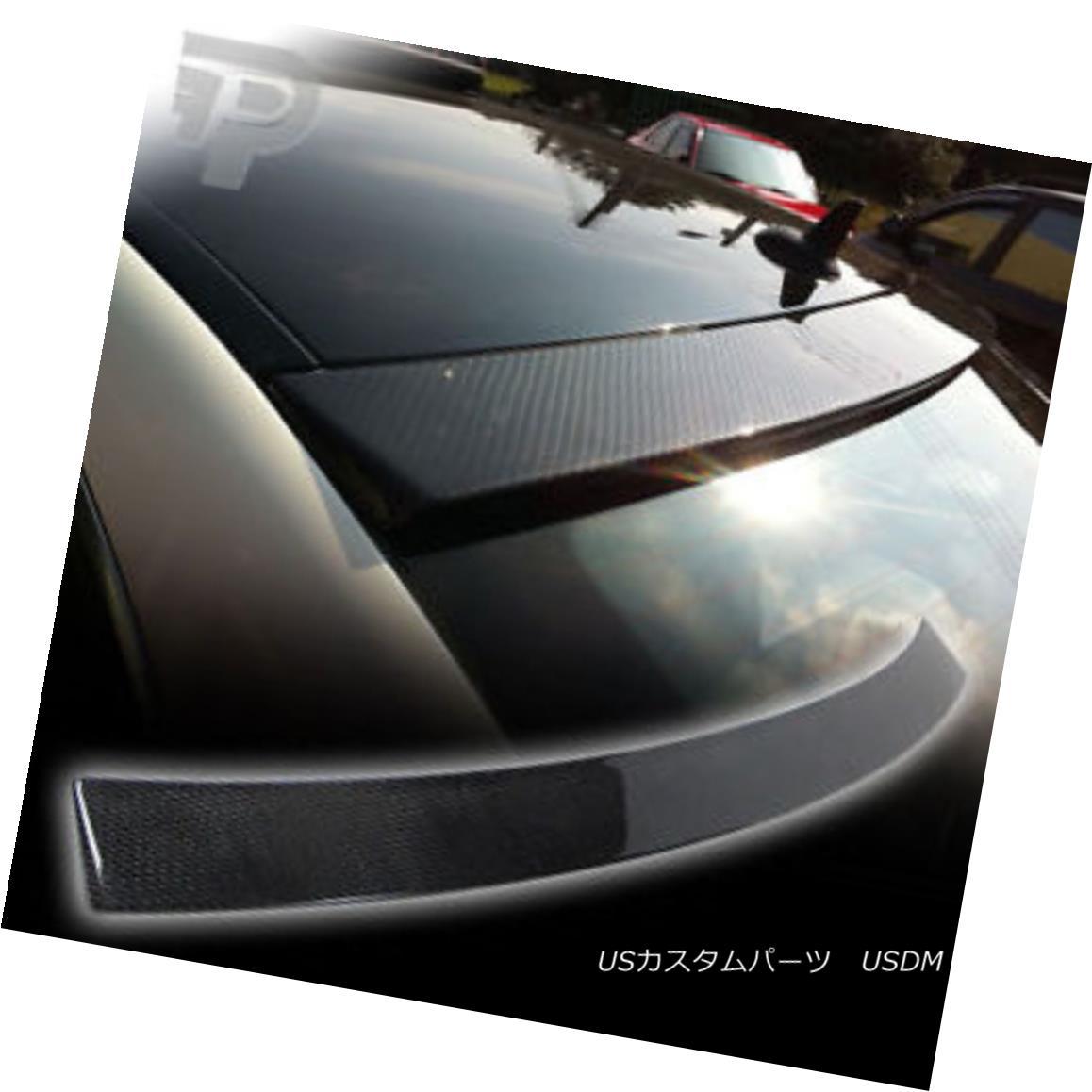 エアロパーツ Carbon Fiber Mercedes BENZ W204 Saloon Wing Rear Roof Spoiler Boot 08 炭素繊維メルセデスベンツW204サルーンウィングリアルーフスポイラーブーツ08