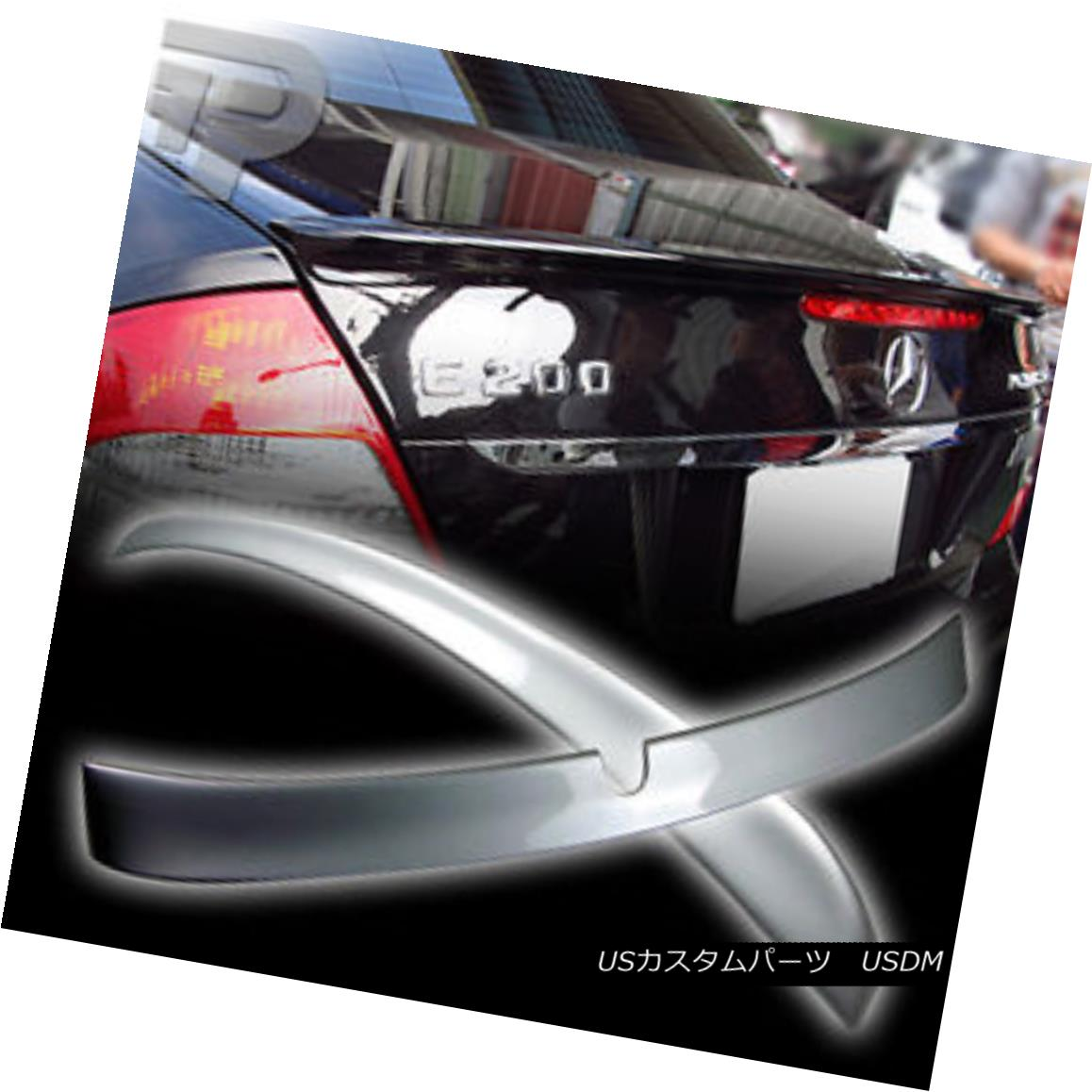 エアロパーツ PAINTED Mercedes BENZ W211 L ROOF WING & A BOOT TRUNK SPOILER 02+ ▼ ペイントされたメルセデスベンツW211 Lルーフウィング& BOOT TRUNK SPOILER 02+?