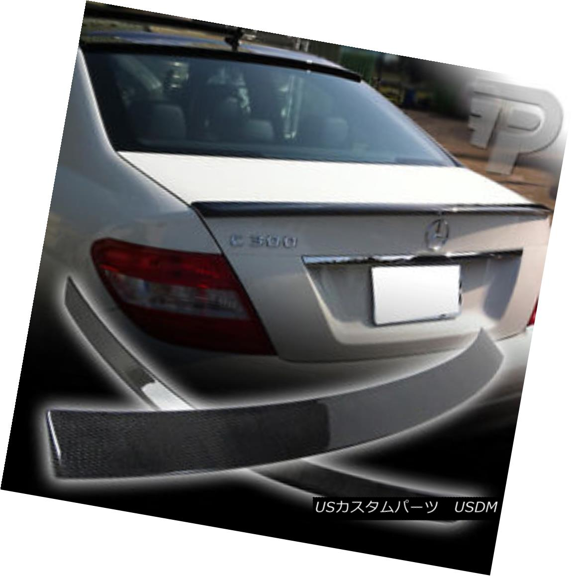 ▼ COMBO エアロパーツ SPOILER OE C300 REAR OEルーフ+リアスポイラートランクC300 + A カーボンファイバーコンボメルセデスベンツW204 ROOF C63? Mercedes TRUNK BENZ FIBER CARBON C63 W204