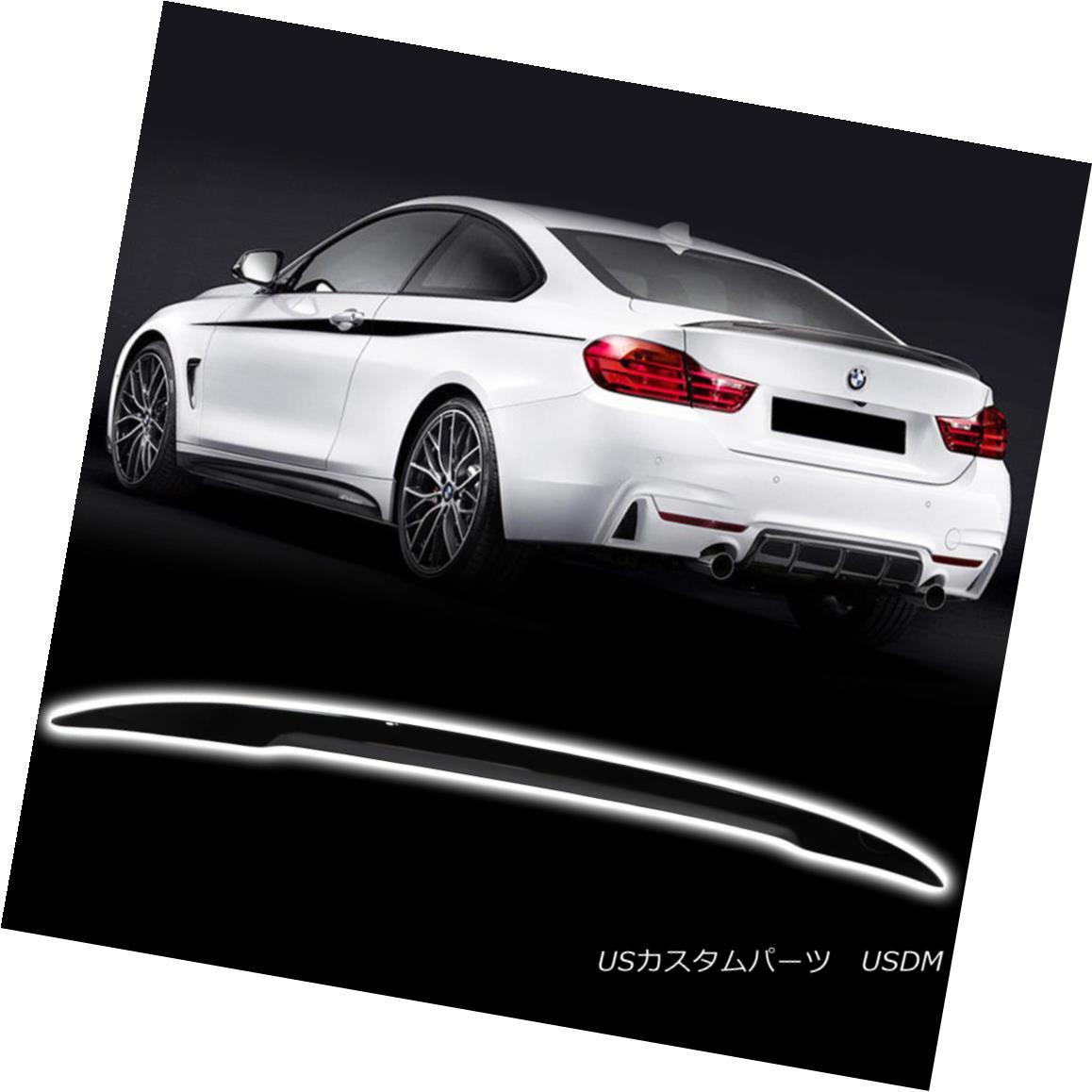エアロパーツ Convertible 4-Ser F33 M4 F83 For BMW Performance Look Trunk Spoiler Color #668 コンバーチブル4-Ser F33 M4 F83 BMWパフォーマンスルックトランク・スポイラーカラー#668