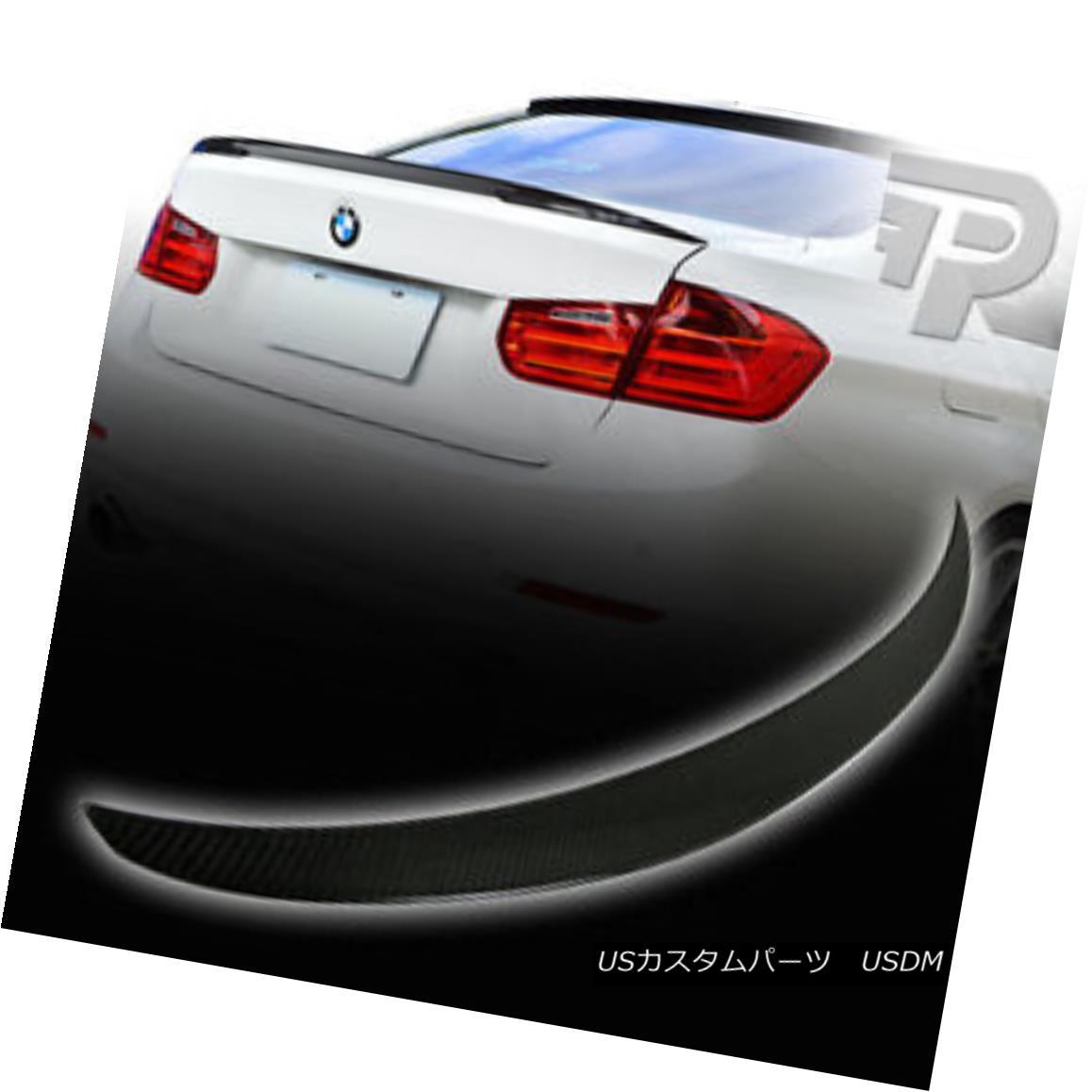 エアロパーツ CARBON FIBER BMW 3-SERIES F30 PERFORMANCE P TYPE REAR BOOT TRUNK SPOILER ▼ カーボンファイバーBMW 3シリーズF30性能Pタイプ後部ブーツトーンスポイラー?