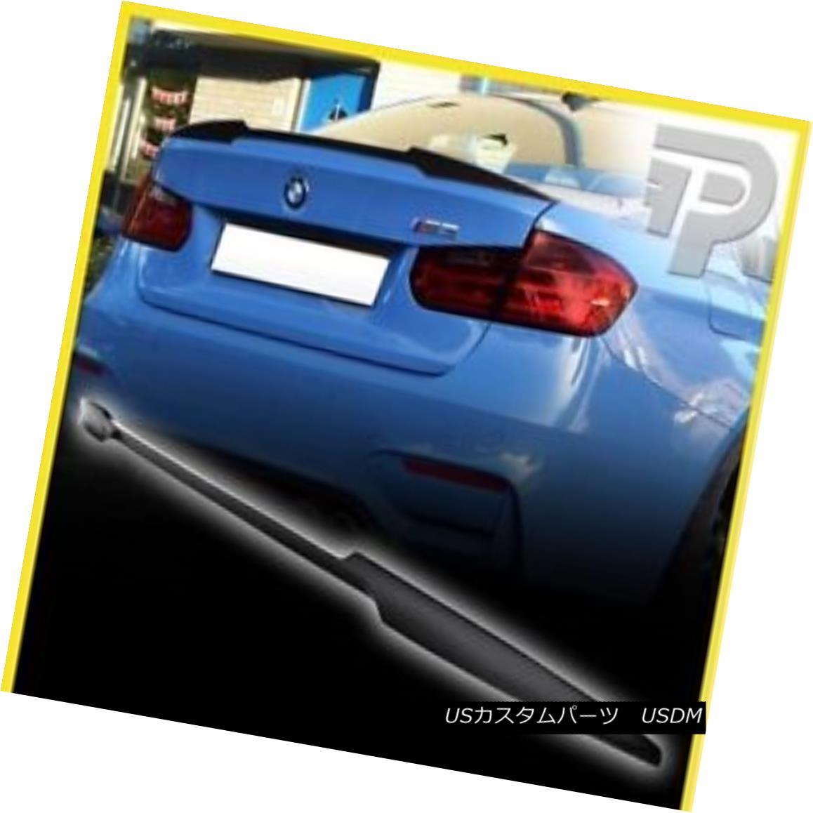 エアロパーツ BMW 3-SERIES F30 F80 V TYPE REAR CARBON FIBER TRUNK LIP SPOILER M3 2012-2016 BMW 3シリーズF30 F80 VタイプリアカーボンファイバートランクリップスポイラーM3 2012-2016