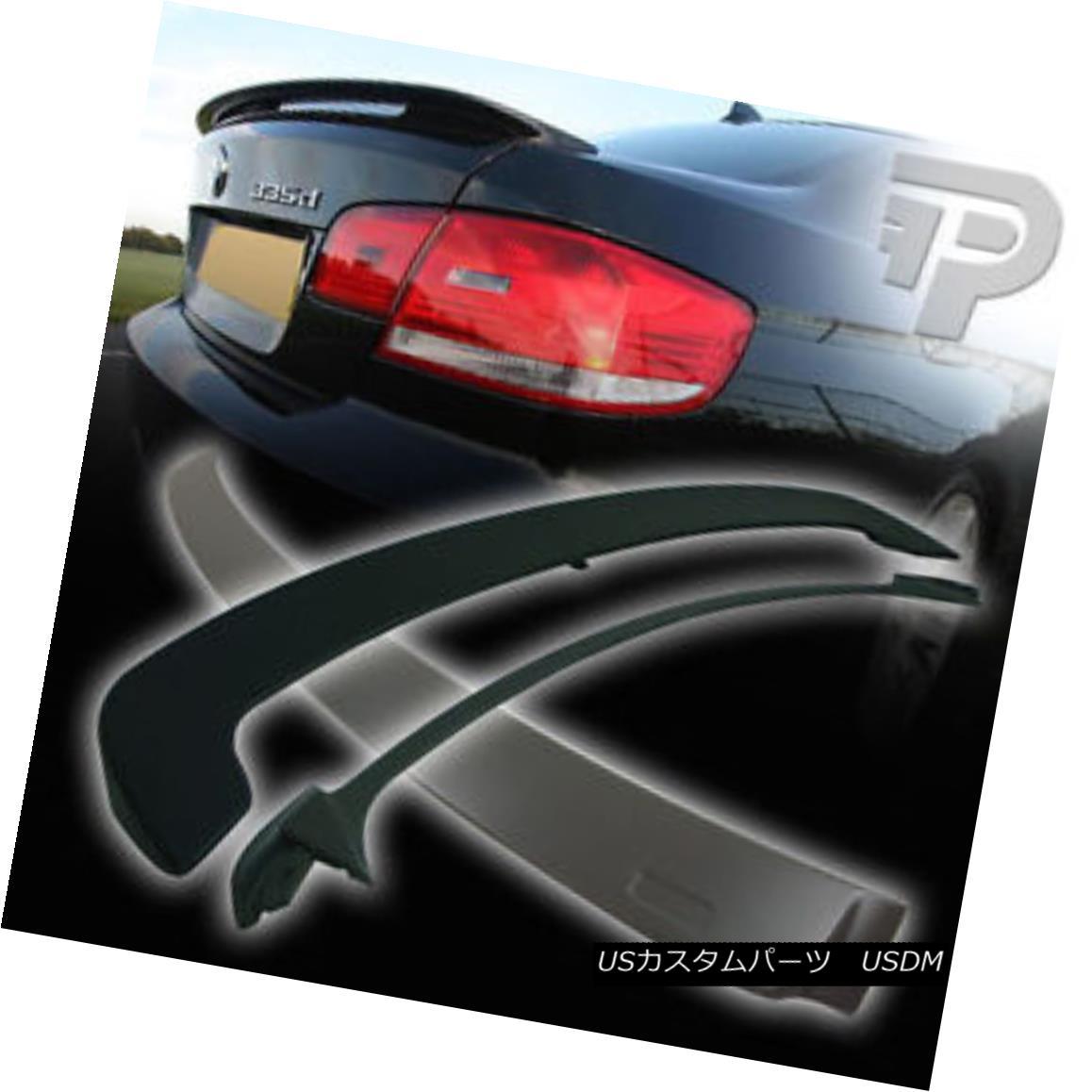 エアロパーツ BMW E92 2D COUPE A ROOF WING & OE REAR BOOT TRUNK SPOILER 07+ ▼ BMW E92 2D COUPE A ROOF WING& OE REAR BOOT TRUNK SPOILER 07+?