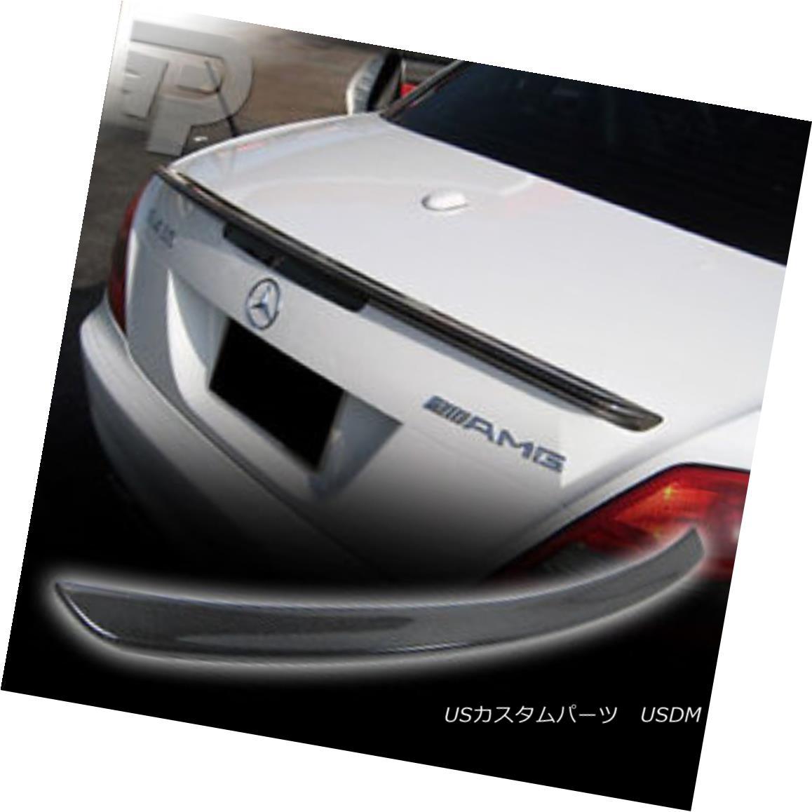 エアロパーツ CARBON FIBER Mercedes BENZ R171 A TYPE REAR WING TRUNK SPOILER BOOT 05-10 CARBON FIBERメルセデスベンツR171 Aタイプリアウィングトランクスポイラーブーツ05-10