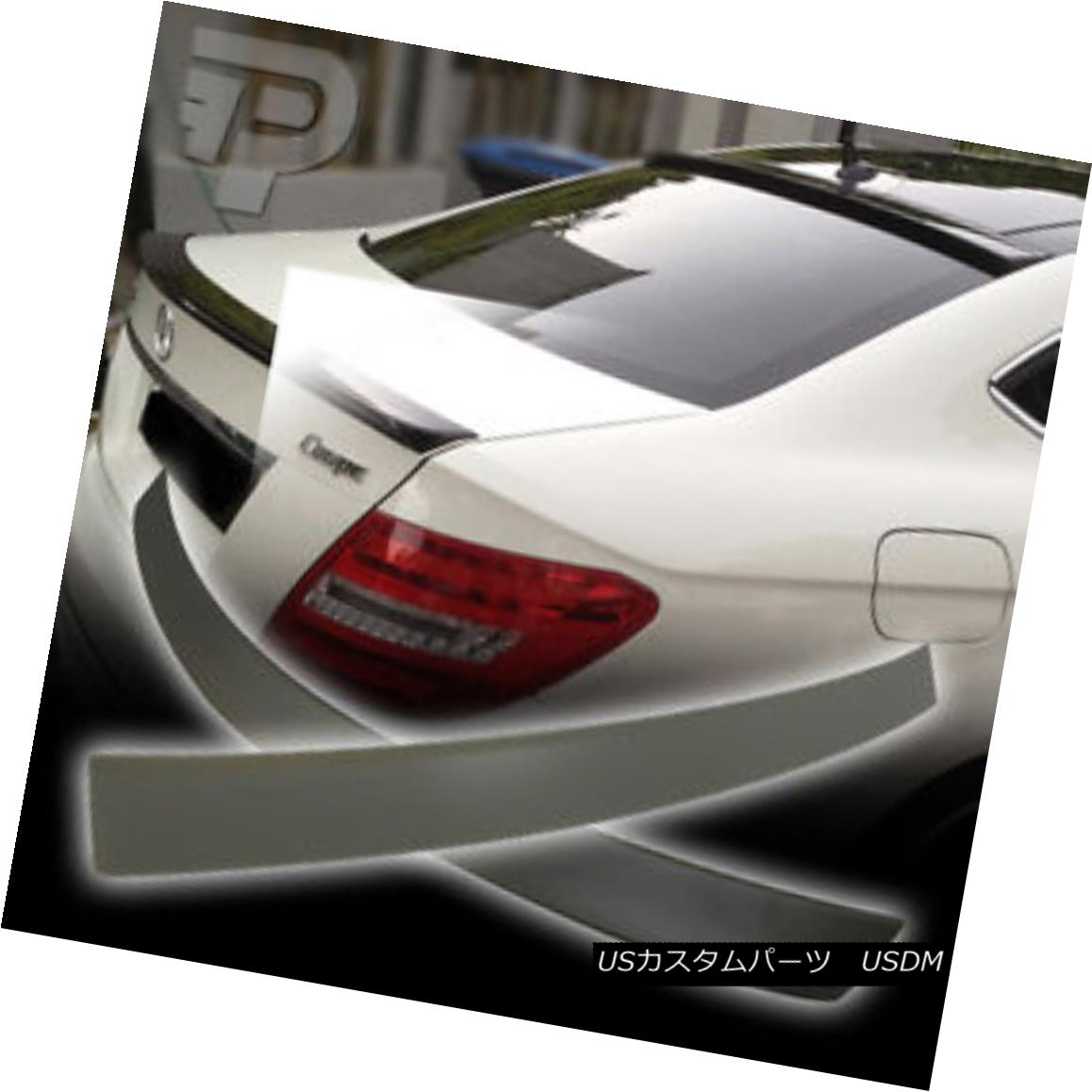 エアロパーツ Mercedes BENZ C204 OE ROOF WING & A TYPE TRUNK SPOILER BOOT WING COUPE 2DR ▼ メルセデスベンツC204 OE ROOF WING& タイプトランク・スポイラー・ブーツ・ウィング・クープ2DR?