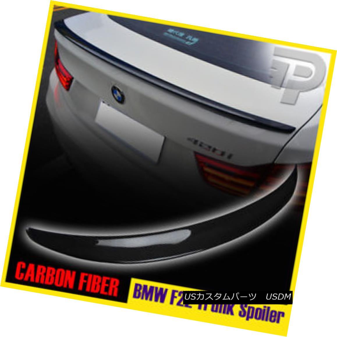 エアロパーツ CARBON FIBER BMW 2ER F22 PERFORMANCE P STYLE RER TRUNK SPOILER 220i 228i カーボンファイバーBMW 2ER F22パフォーマンスPスタイルレールトランクスポイラー220i 228i