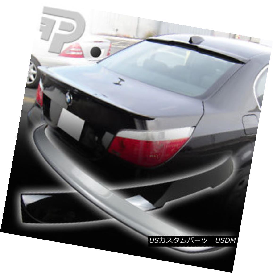 エアロパーツ PAINTED BMW E60 A TYPE ROOF REAR WING & TRUNK SPOILER 04+ ▼ ペイントされたBMW E60タイプルーフリアウイング& TRUNK SPOILER 04+?