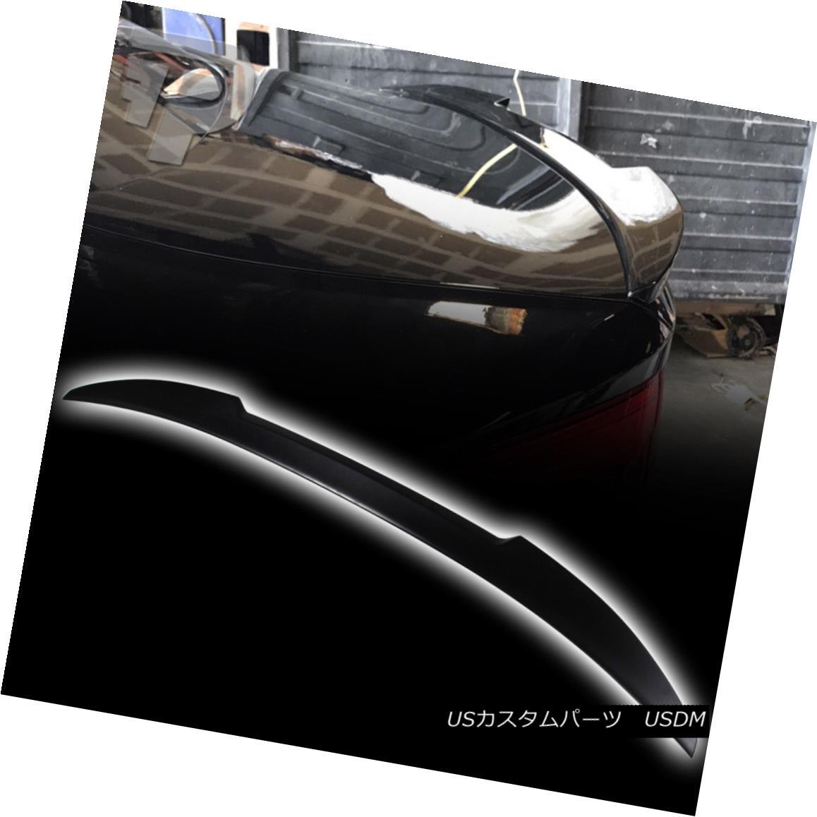 エアロパーツ Painted #475 2017 M4 Type Rear Trunk Boot Spoiler BMW 5-Ser G30 4DR 530i 540i M5 ペイント#475 2017 M4タイプリアトランク・ブーツ・スポイラーBMW 5-Ser G30 4DR 530i 540i M5