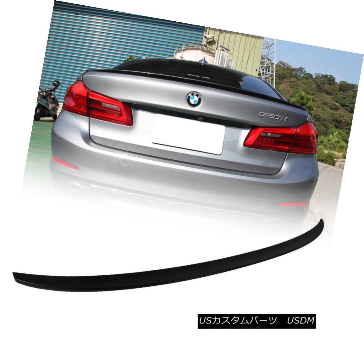 エアロパーツ Fast Ship~ M5 Type Rear Trunk Boot Spoiler Unpaint For BMW 5-Ser G30 Sedan 2018 ファストシップ?BMW 5シリーズG30セダン2018用未塗装M5タイプリアトランク・ブーツ・スポイラー