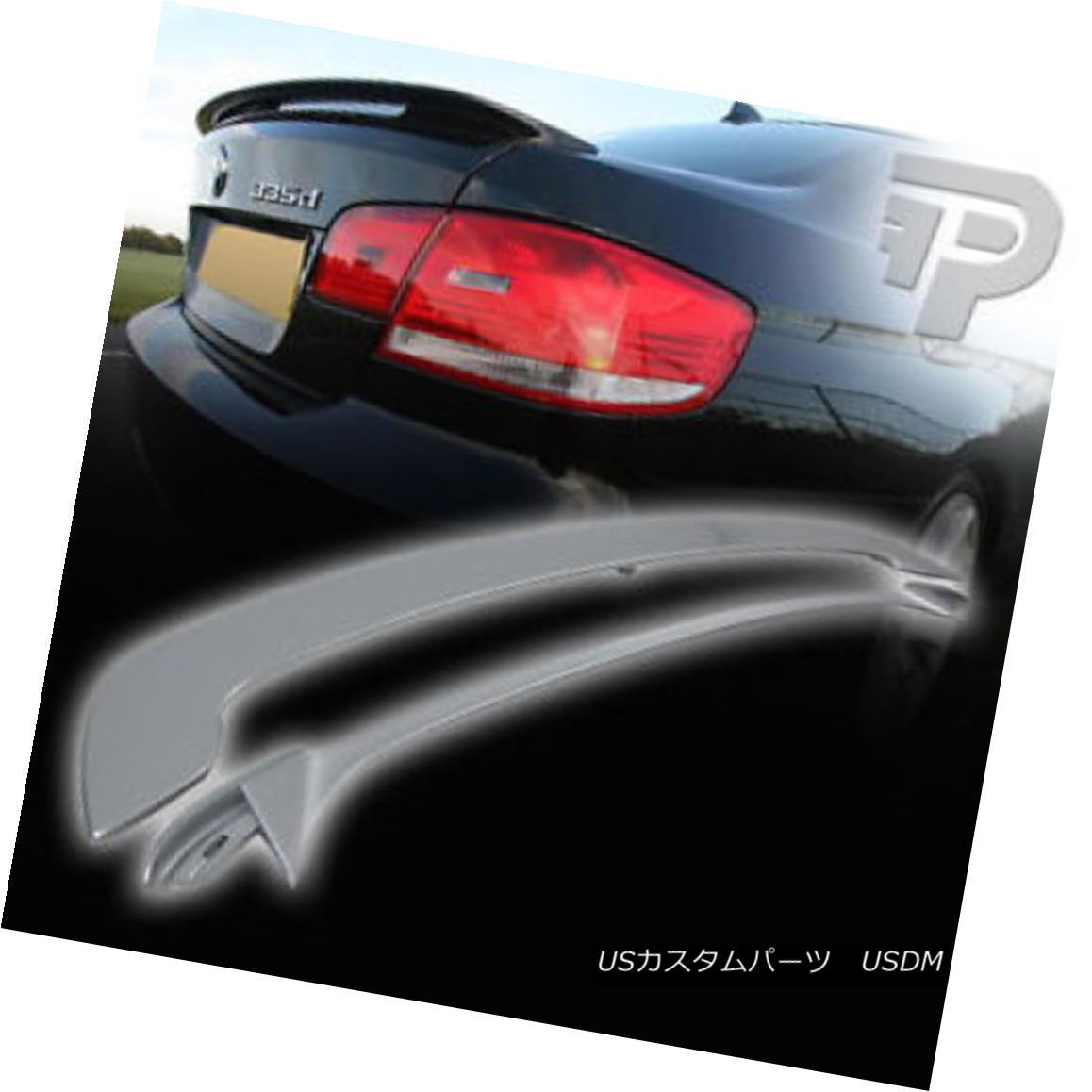 エアロパーツ PAINTED FOR BMW 3-SERIES E92 COUPE 2DR OE TYPE REAR BOOT TRUNK SPOILER 07+ BMW 3シリーズ用に塗装されたE92 COUPE 2DR OEタイプリア・ブーツ・トランク・スポイラー07+