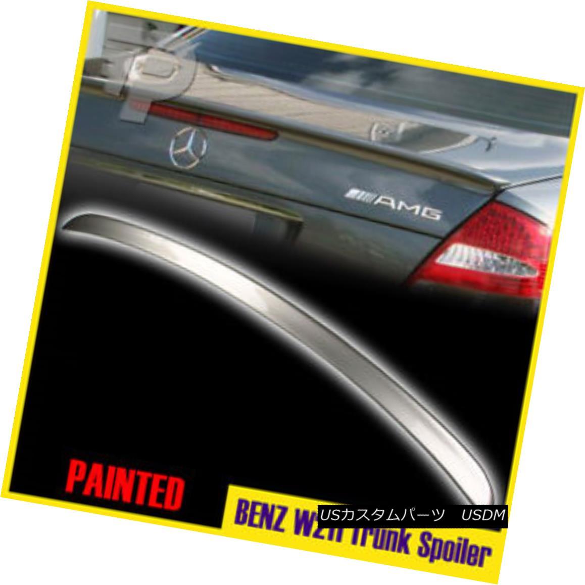 エアロパーツ Painted #723 Mercedes Benz W211 E-Class Saloon 4D Rear Trunk Wing Spoiler Boot ペイント#723メルセデスベンツW211 Eクラスサロン4Dリアトランクウィングスポイラーブーツ