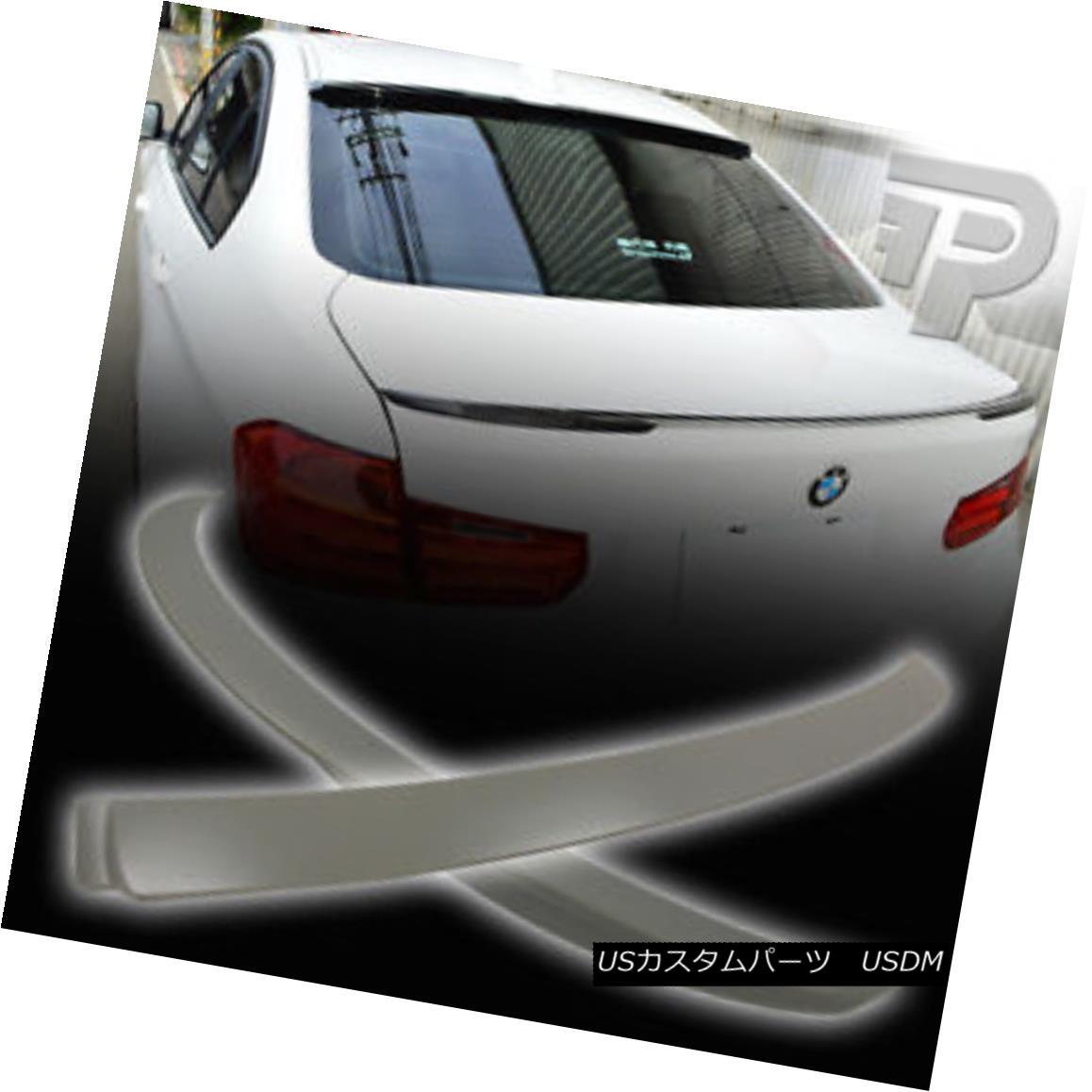 エアロパーツ BMW 3-SERIES F30 A TYPE REAR WINDOW ROOF & PERFORMANCE P TRUNK WING SPOILER ▼ BMW 3シリーズF30 Aタイプリアウィンドウルーフ& パフォーマンスP TRUNK WING SPOILER?
