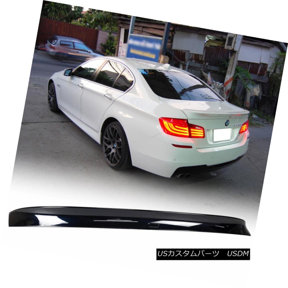 エアロパーツ Fit BMW 5SER F10 M5 Sedan A Look Rear Trunk Spoiler Wing Paint #416 11-16 ABS フィットBMW 5SER F10 M5セダンルックリアトランクスポイラーウイングペイント#416 11-16 ABS
