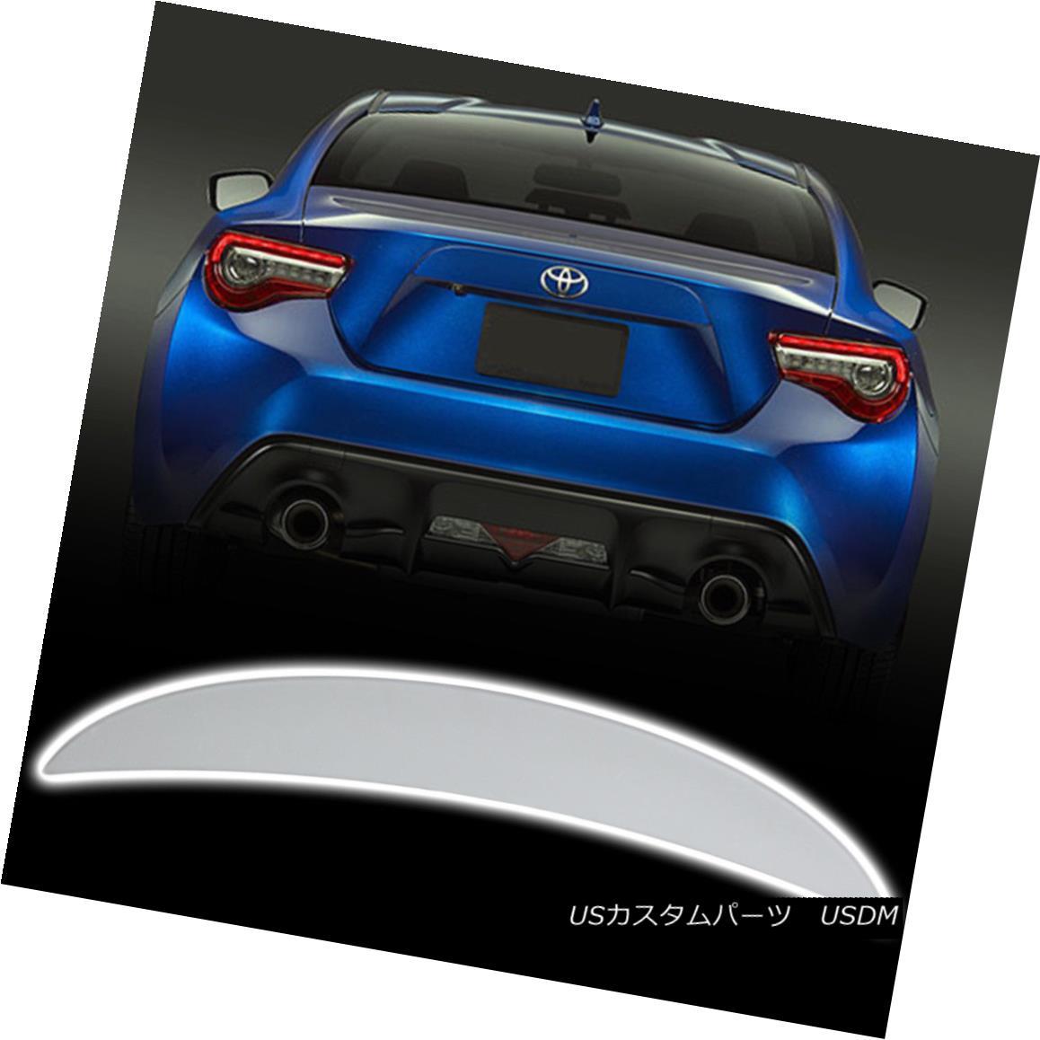 エアロパーツ Painted High Kick P Look Trunk Spoiler For Subaru BRZ / Scion FRS / Toyota GT86 スバルBRZ /サイオンFRS /トヨタGT86用ハイキックPルックルーフスポイラーを塗装