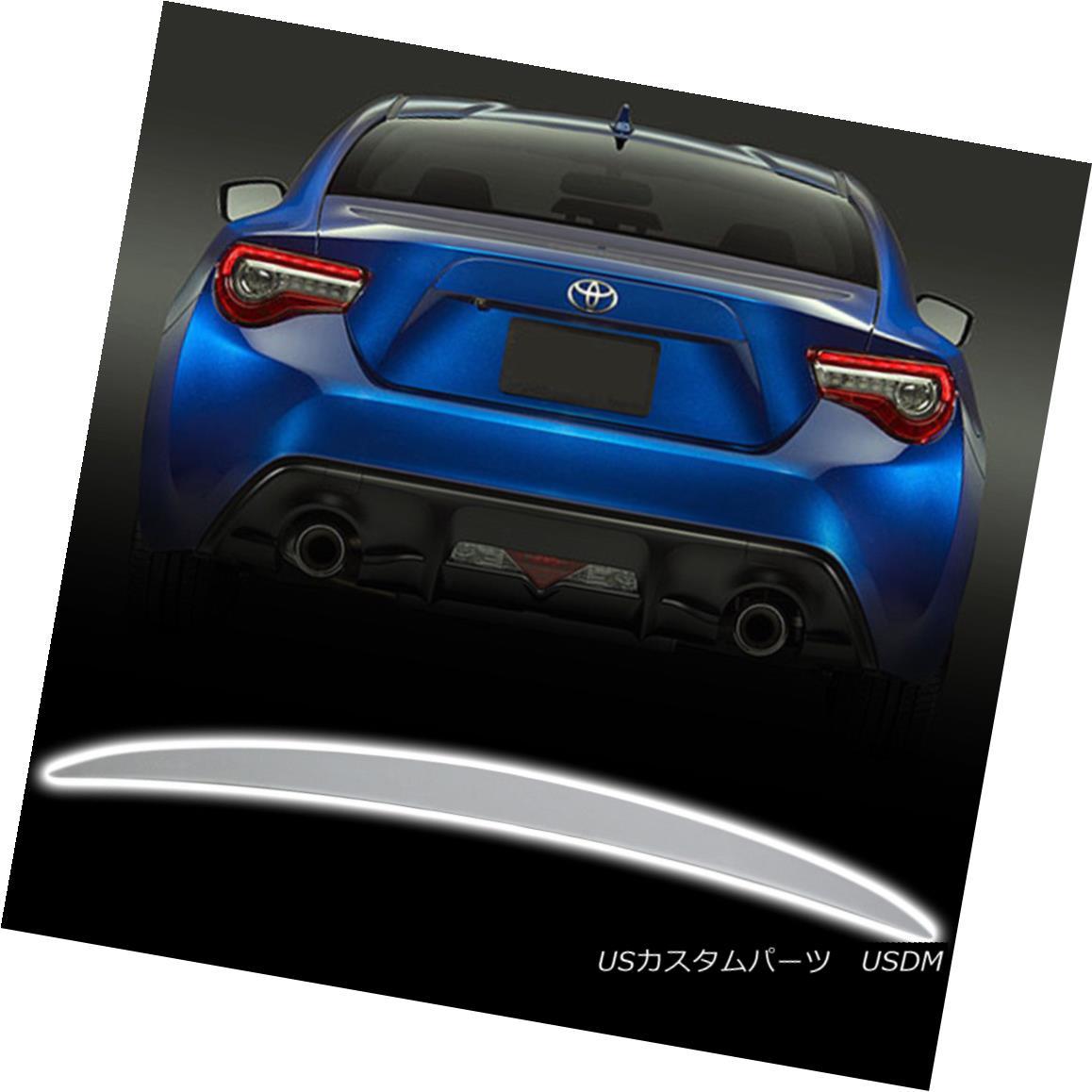 エアロパーツ Unpaint Performance Style Trunk Spoiler For Subaru BRZ / Scion FRS / Toyota GT86 Subaru BRZ / Scion FRS / Toyota GT86用のペイント・パフォーマンス・スタイル・トランク・スポイラー