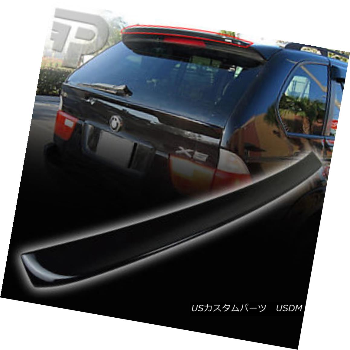 エアロパーツ PAINTED X5 E53 BMW REAR TRUNK SPOILER A STYLE 475 BLACK ▼ ペイント済みX5 E53 BMWリアトランクスポイラースタイル475ブラック?