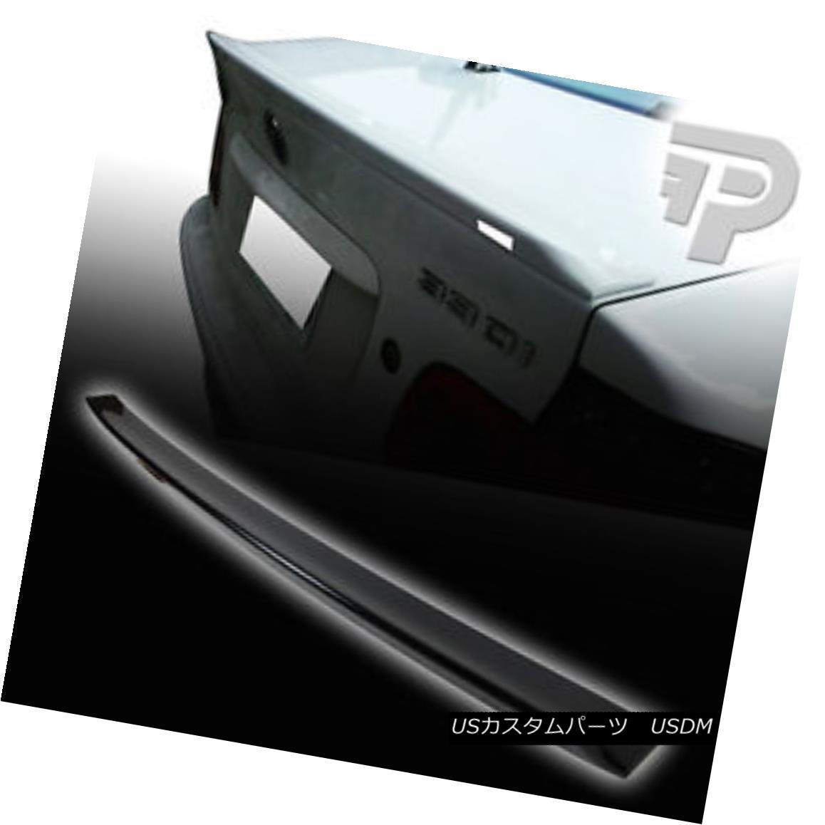 エアロパーツ PAINTED#475 BLACK 99-05 E46 BMW 4D SEDAN TRUNK SPOILER BOOT REAR NEW 塗装#475黒99-05 E46 BMW 4Dセダントランクスポイラーブーツリア