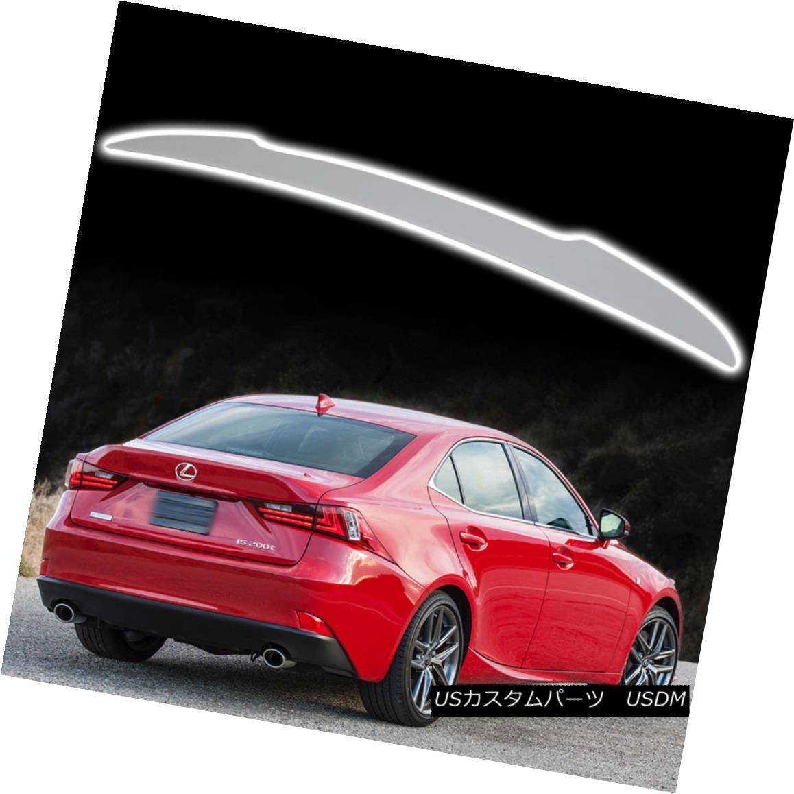 エアロパーツ IS250 IS350 IS F Sedan For Lexus 14-18 D Style Painted Color Trunk Spoiler IS250 IS350 ISセダンレクサス14-18 Dスタイル塗装カラートランクスポイラー