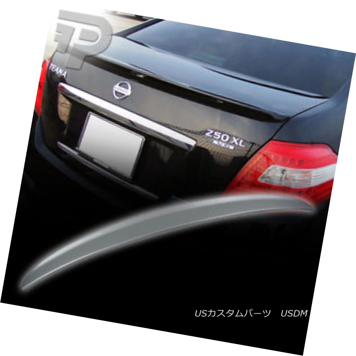 エアロパーツ PAINTED For TEANA J32 SEDAN OE REAR BOOT TRUNK SPOILER ▼ 塗装TEANA J32 SEDAN OE REAR BOOT TRUNK SPOILERについては?