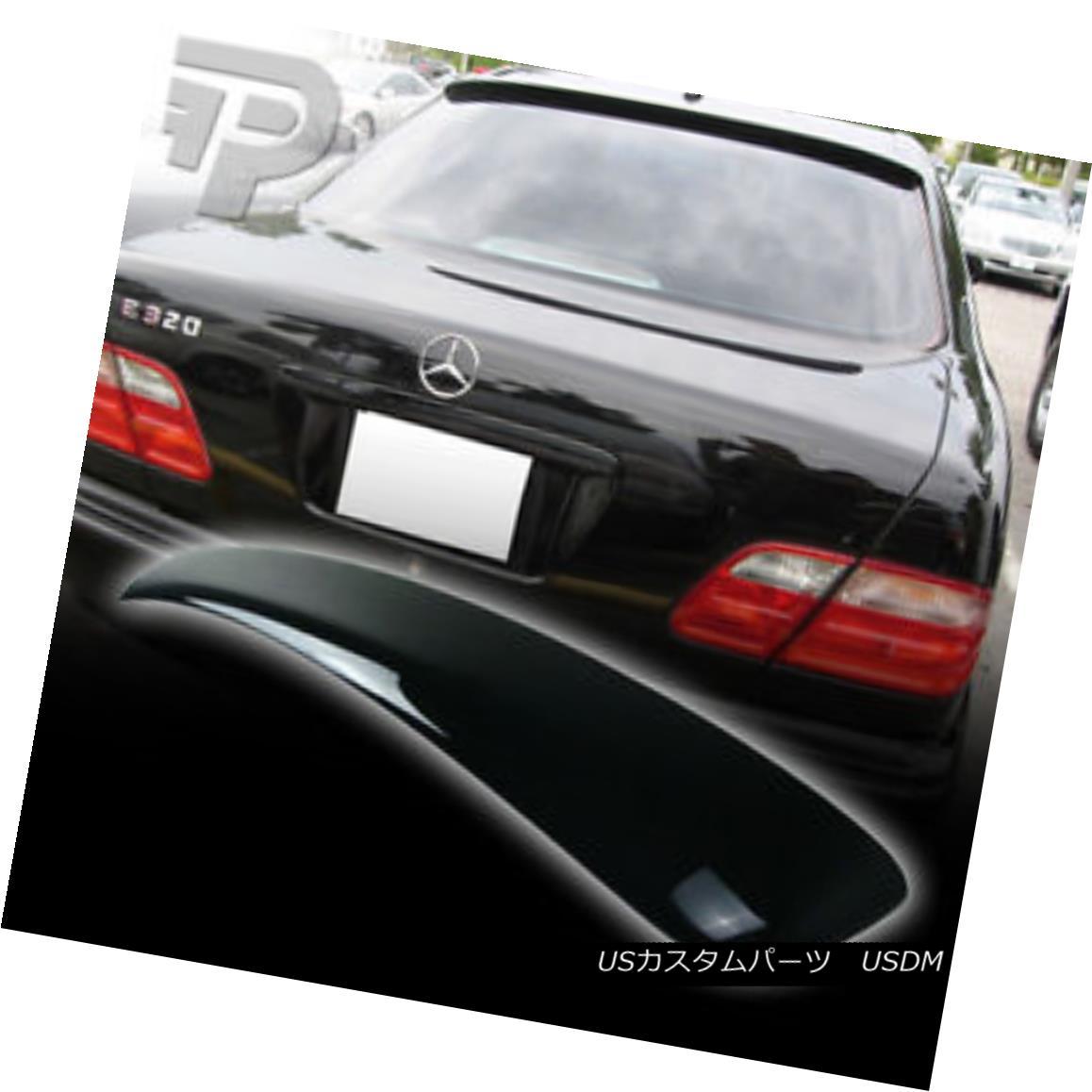 エアロパーツ PAINTED Mercedes BENZ W210 L STYLE REAR ROOF SPOILER 4DR SEDAN 040 ▼ 塗装されたメルセデスベンツW210 Lスタイル後部ルーフスポイラー4DRセダン040?