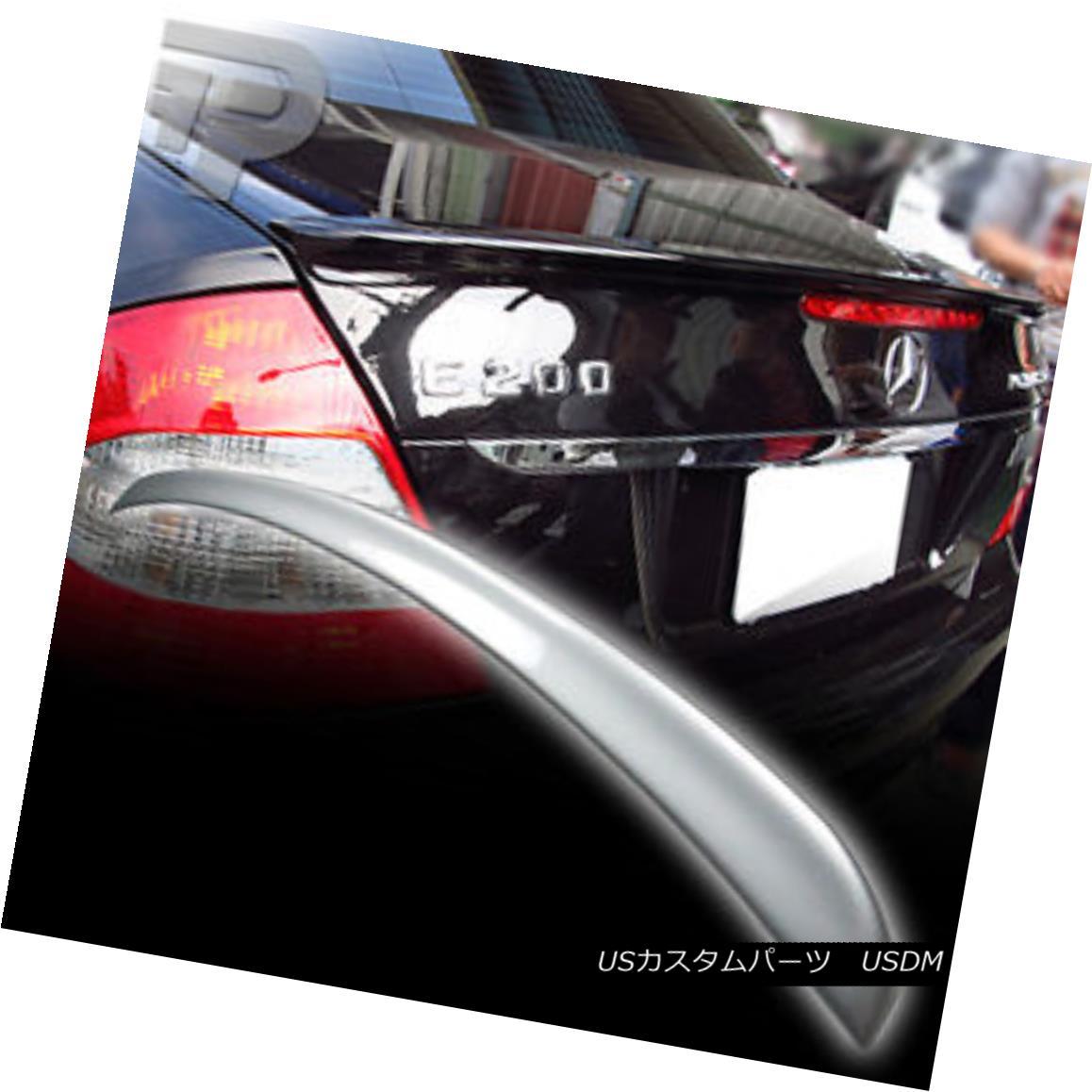 エアロパーツ PAINTED Mercedes BENZ W211 A TRUNK REAR SPOILER 08 775 SILVER ▼ 塗装されたメルセデスベンツW211 TRUNKリアスポイラー08 775シルバー?