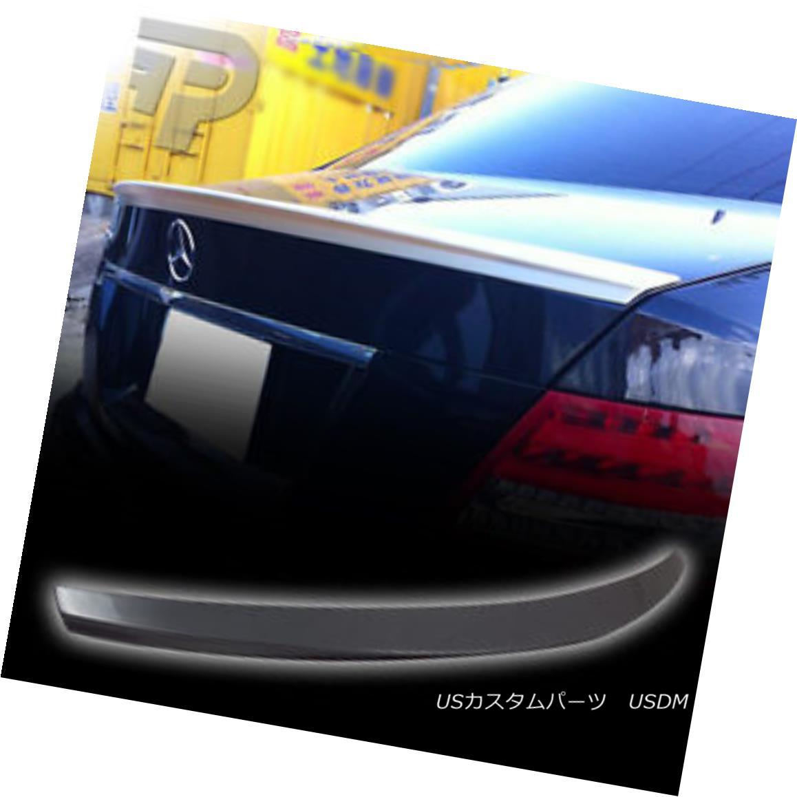 エアロパーツ PAINTED FOR Mercedes BENZ W204 FACTORY D STYLE REAR TRUNK SPOILER 08-13 メルセデス・ベンツW204用の塗装工場スタイルのリア・トランク・スポイラー08-13