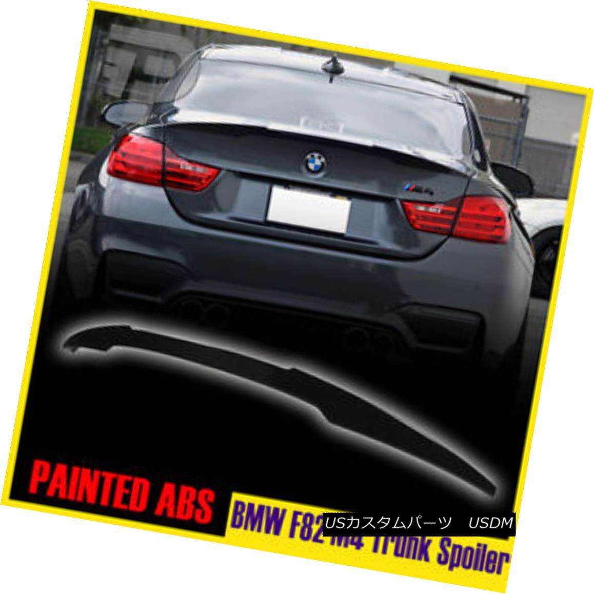 エアロパーツ PAINTED 668 BMW 4 SERIES F82 M4 PERFORMANCE P-TYLE REAR WING TRUNK SPOILER ▼ ペイント668 BMW 4シリーズF82 M4パフォーマンスP型リアウイングトランクスポイラー?