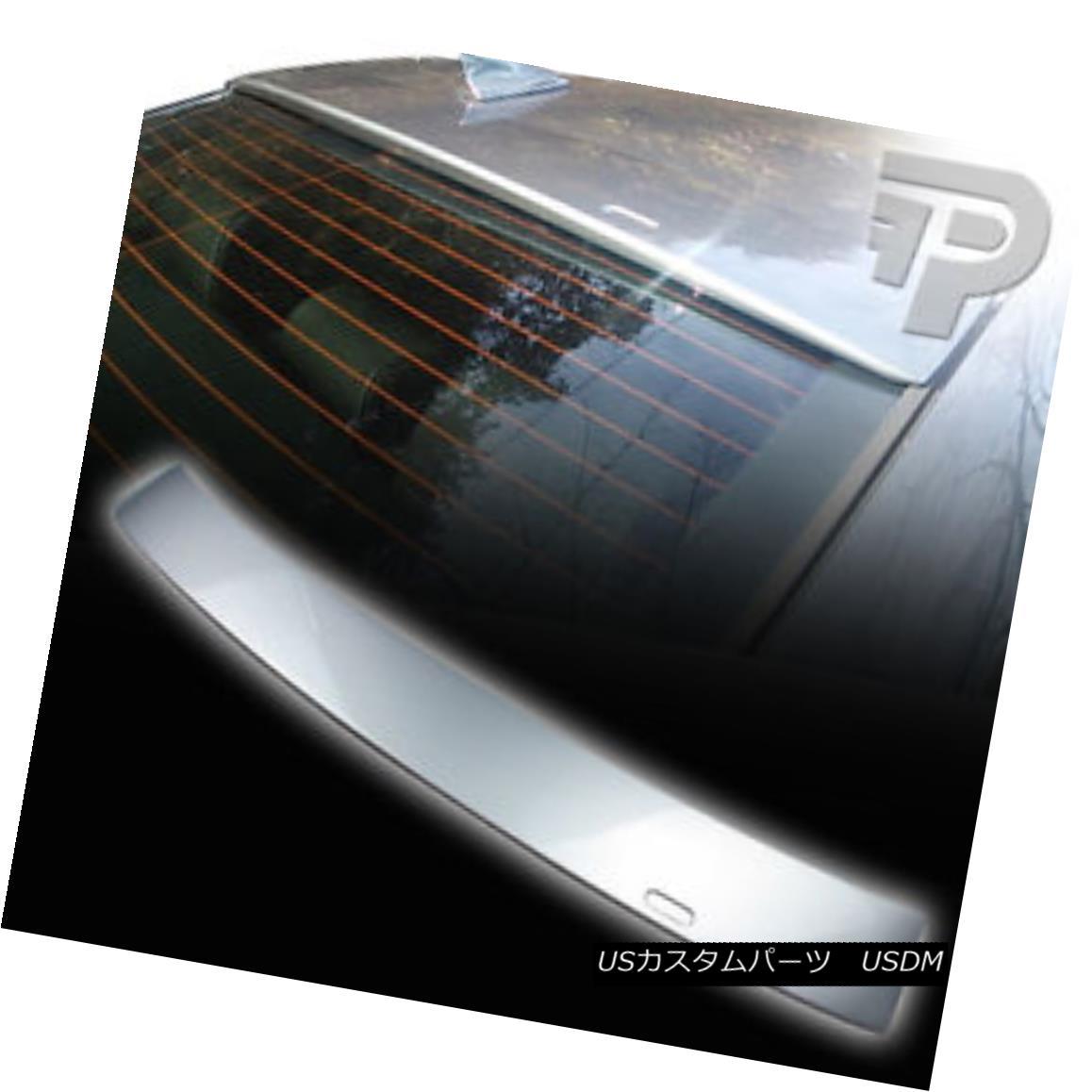 エアロパーツ PAINTED E39 4D SEDAN BMW A TYPE REAR WINDOW ROOF SPOILER 354 SILVER ▼ 塗装E39 4D SEDAN BMW Aタイプリアウィンドウルーフスポイラー354シルバー?