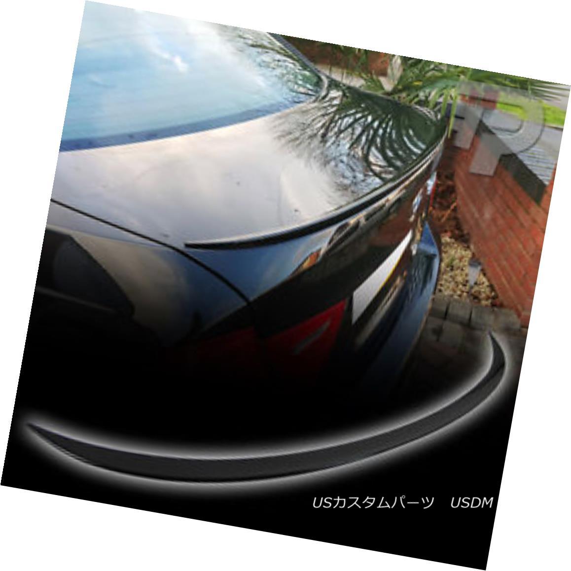 エアロパーツ PAINTED E90 BMW 4D SALOON M3-STYLE SPOILER BOOT REAR TRUNK #475 Black 328i 328i ペイントE90 BMW 4DサロンM3スタイルのスポイラーブーツリアトランク#475ブラック328i 328i
