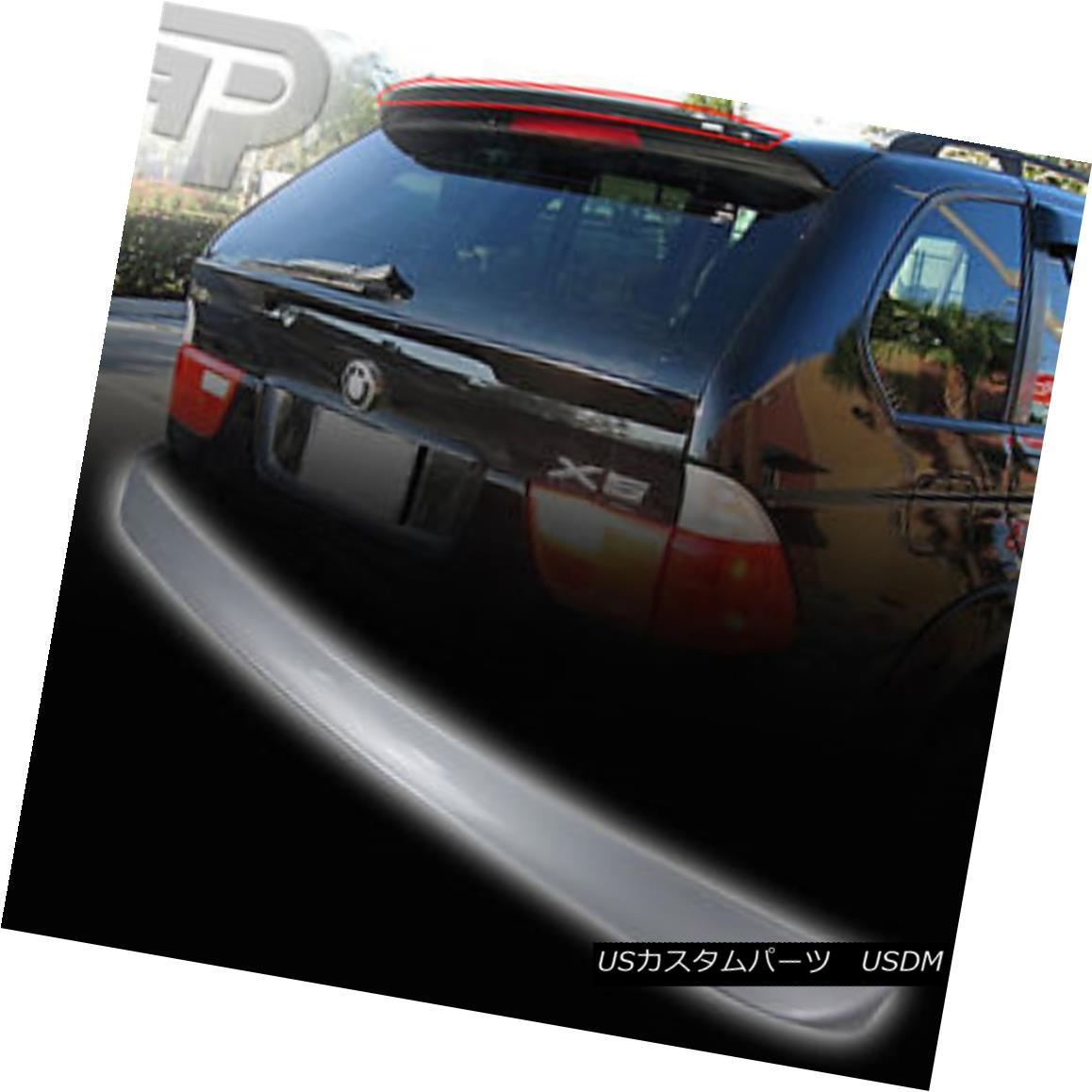 エアロパーツ PAINTED BMW E53 X5 REAR TRUNK BOOT SPOILER A-TYPE 00-06 塗装済みBMW E53 X5リアトランク・ブーツ・スポイラーA-TYPE 00-06