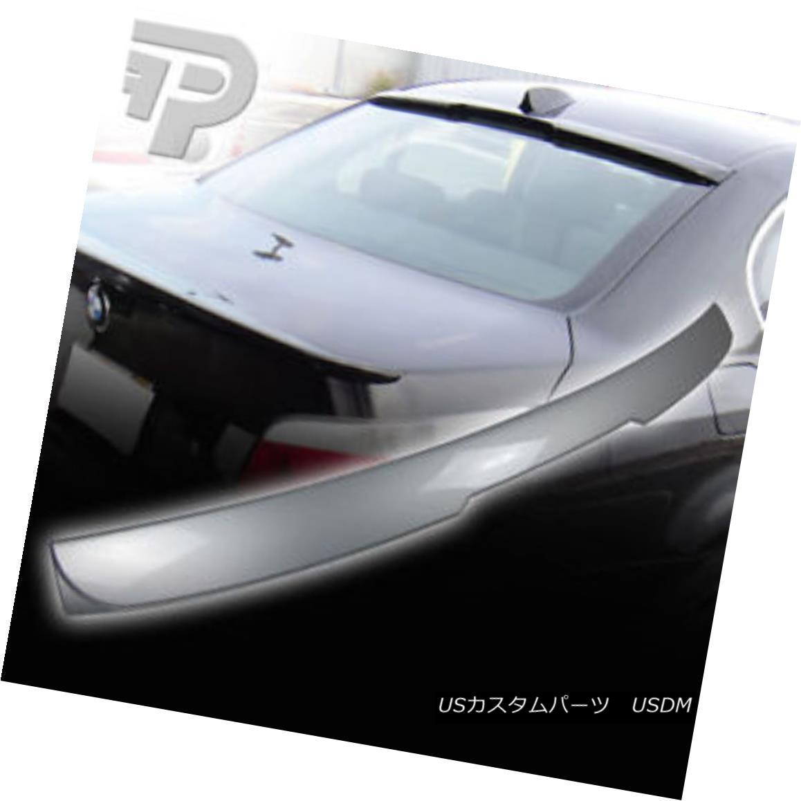 エアロパーツ PAINTED BMW E60 REAR ROOF SPOILER 4DR SALOON SEDAN A 354 SILVER ▼ 塗装BMW E60リアルーフスポイラー4DRサロンセダンA 354シルバー?
