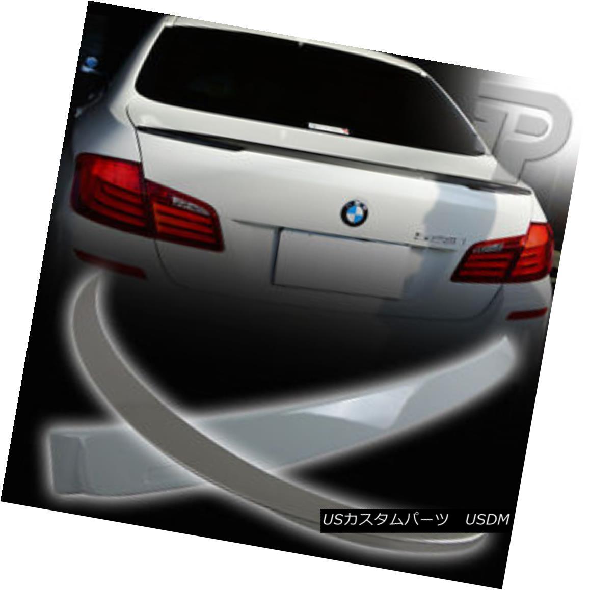 エアロパーツ PAINTED BMW F10 SEDAN REAR A ROOF & BOOT TRUNK SPOILER P PERFORMANCE TYPE ▼ 塗装済みBMW F10セダンリアアールーフ& BOOT TRUNK SPOILER P PERFORMANCE TYPE?