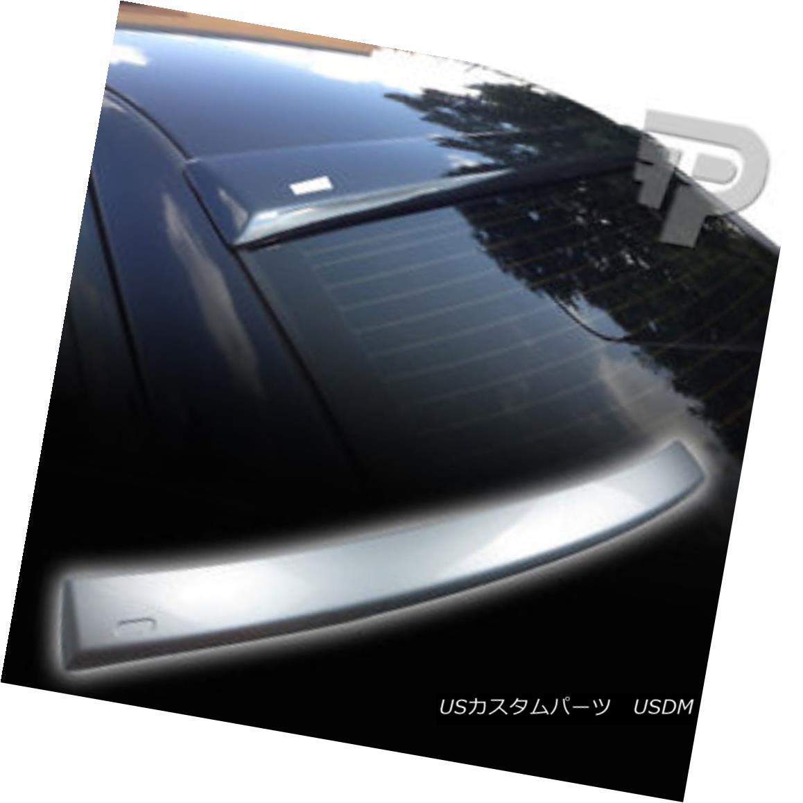 エアロパーツ PAINTED E36 4DR SEDAN BMW A TYPE REAR ROOF WING SPOILER 354 SILVER ▼ 塗装E36 4DR SEDAN BMW Aタイプリアルーフウイングスポイラー354シルバー?