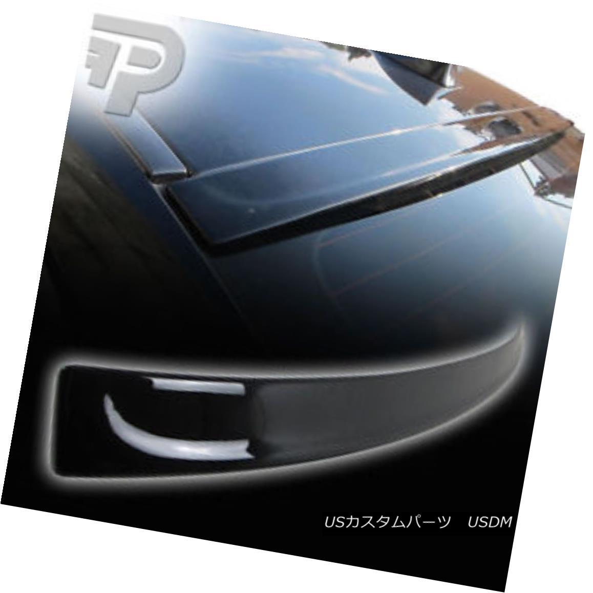 エアロパーツ PAINTED #354 Silver BMW 5-Series F10 3D TYPE WINDOW REAR ROOF SPOILER ペイント#354シルバーBMW 5シリーズF10 3Dタイプウインドウリアルーフスポイラー