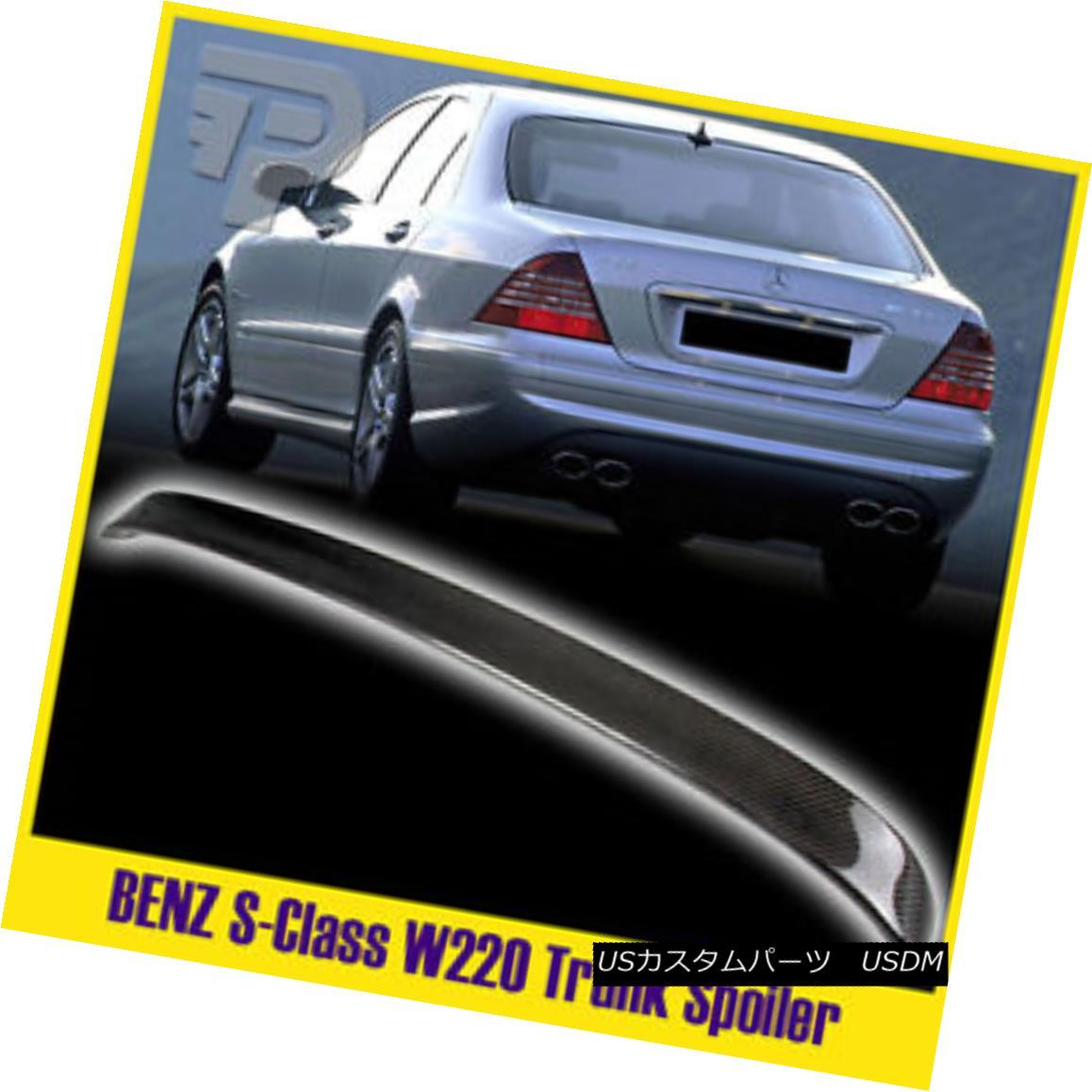エアロパーツ FOR Mercedes BENZ W219 A TYPE BOOT CARBON FIBER TRUNK SPOILER 04-10 メルセデスベンツW219用Aタイプのカーボンファイバートランクスポイラー04-10