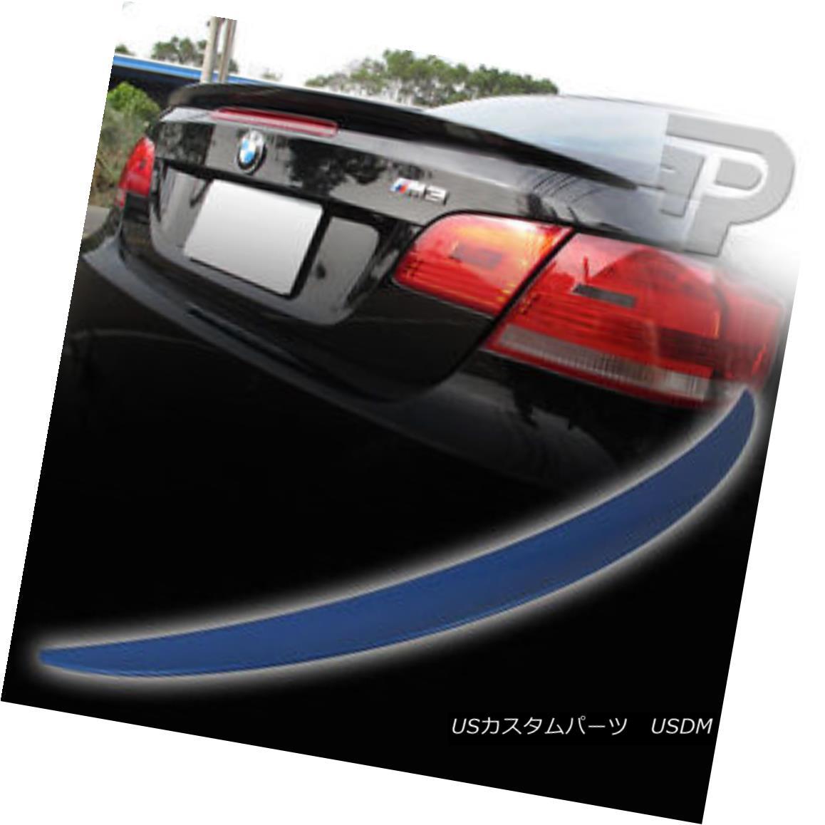 エアロパーツ PAINTED #354 BMW E93 CONVERTIBLE PERFORMANCE P TYPE REAR TRUNK SPOILER WING ▼ 塗装済み#354 BMW E93コンバーチブルパフォーマンスPタイプリアTRONK SPOILER WING?