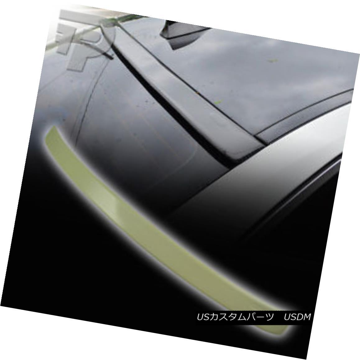 エアロパーツ PAINTED 5-SERIES F10 BMW A TYPE REAR ROOF WINDOW SPOILER 354 SILVER ▼ 塗装5シリーズF10 BMW Aタイプリアルーフウインドウスポイラー354シルバー?