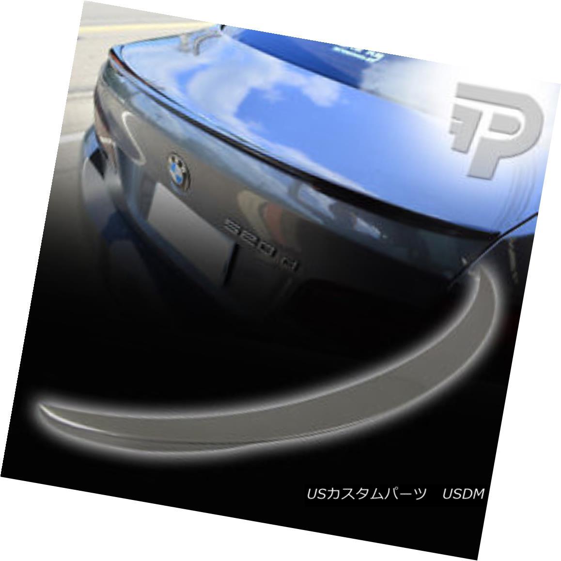 エアロパーツ 550i M5 PAINTED BMW 5-SERIES P PERFORMANCE TYPE F10 REAR TRUNK SPOILER A52 ▼ 550i M5塗装BMW 5シリーズPパフォーマンスタイプF10リアトランクスポイラーA52?