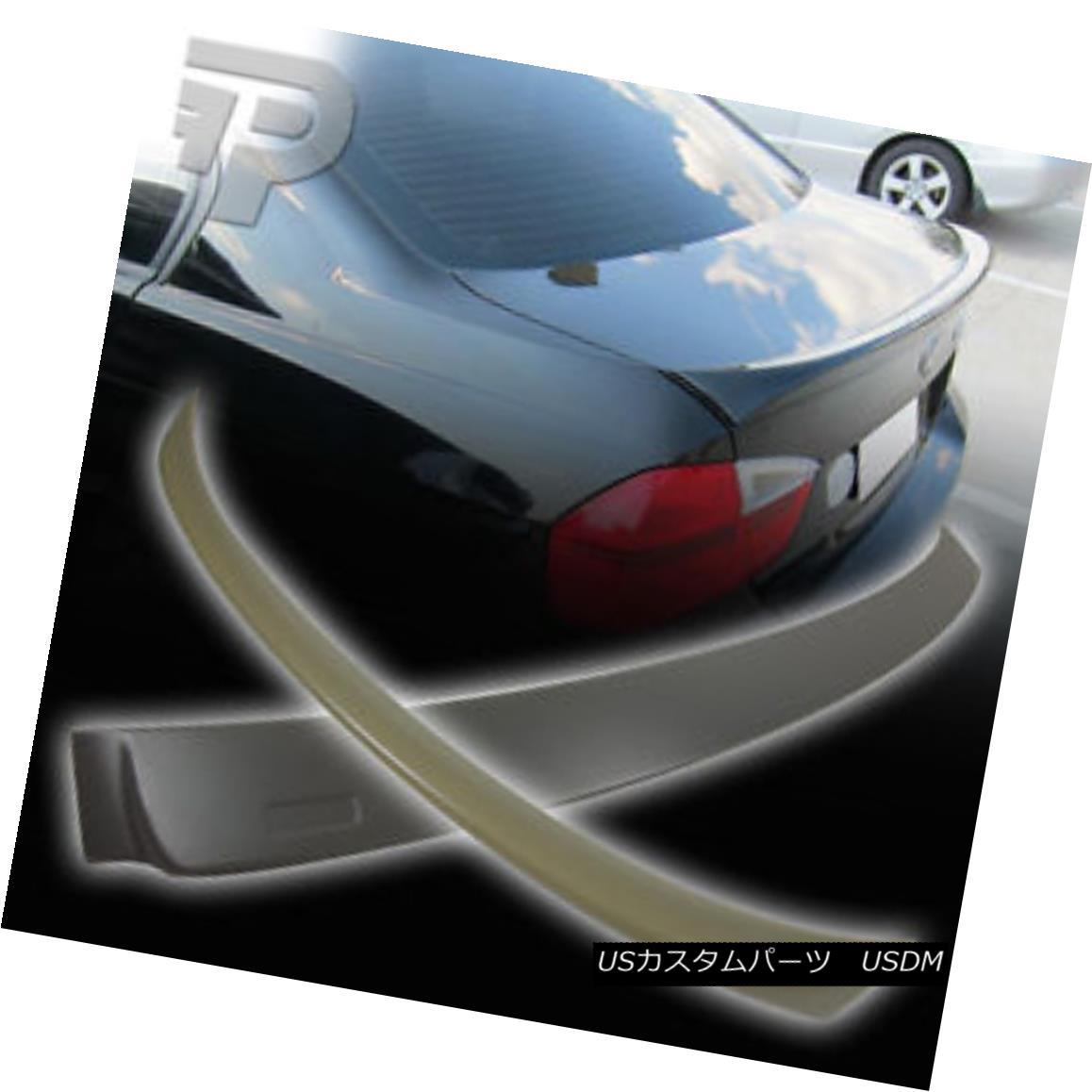 エアロパーツ BMW E90 4D SEDAN A ROOF & OE TYPE REAR BOOT TRUNK SPOILER 330i 325i 320i 06+ ▼ BMW E90 4D SEDAN A ROOF& OEタイプリア・ブーツ・トランク・スポイラー330i 325i 320i 06+?